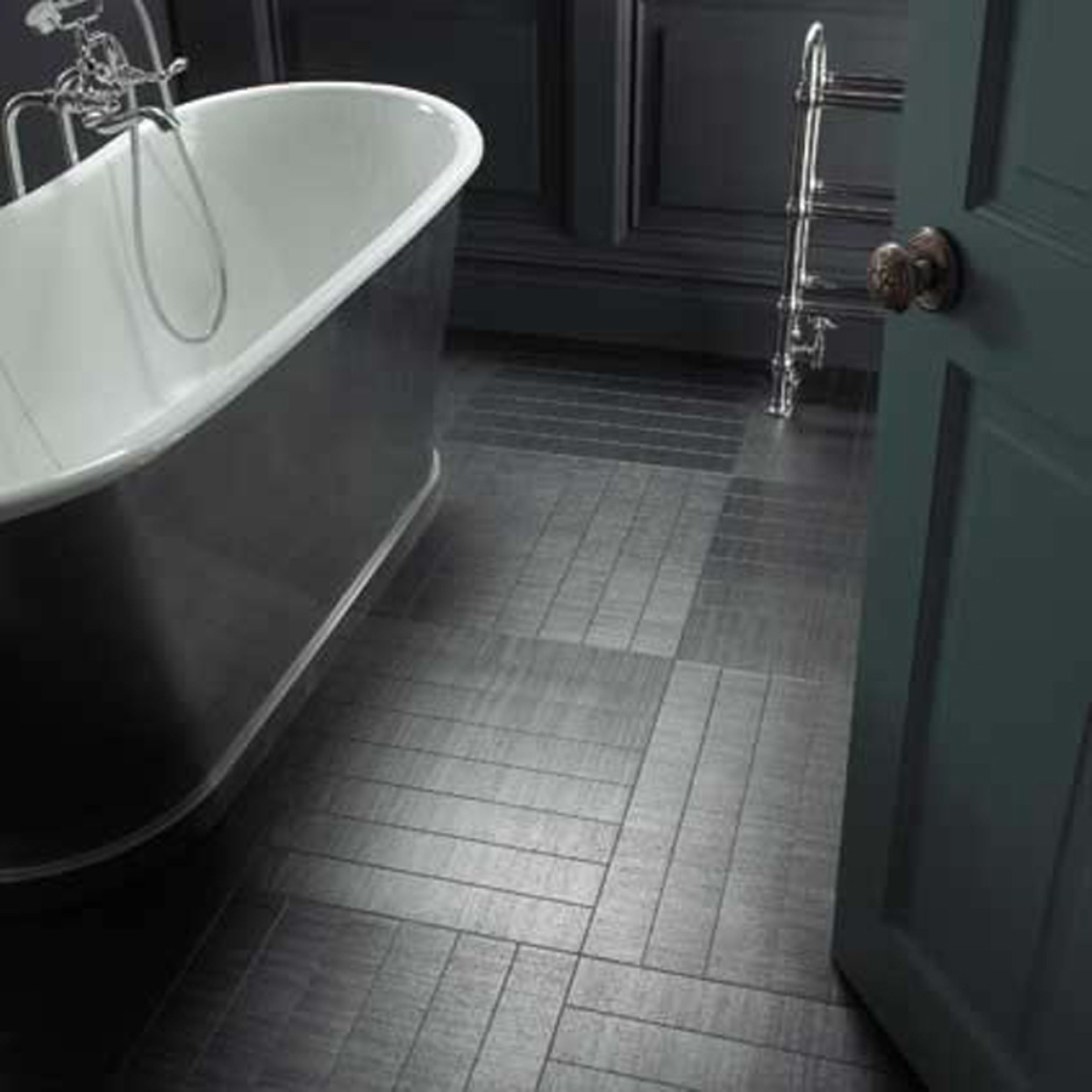 Smart Bathroom Flooring With Bewitching Design Ideas Which Gives A Natural Sensation For Comfort Of Bathroom (Image 12 of 29)