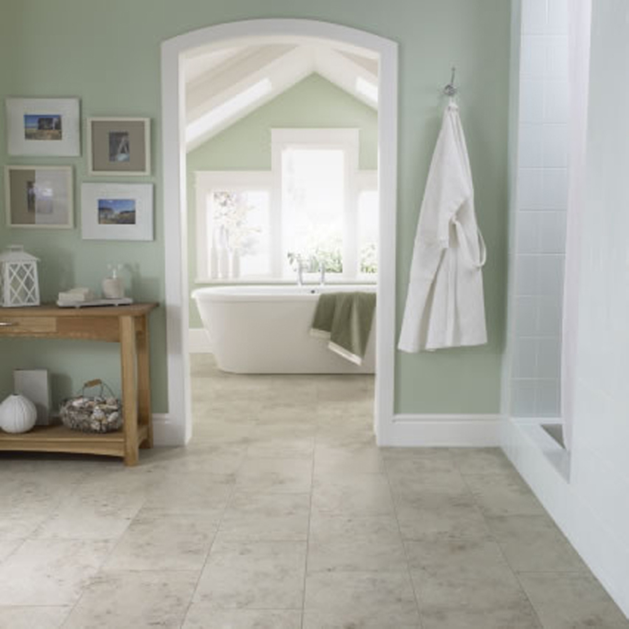 Bathroom flooring options to create fresh nuance custom for Bathroom examples