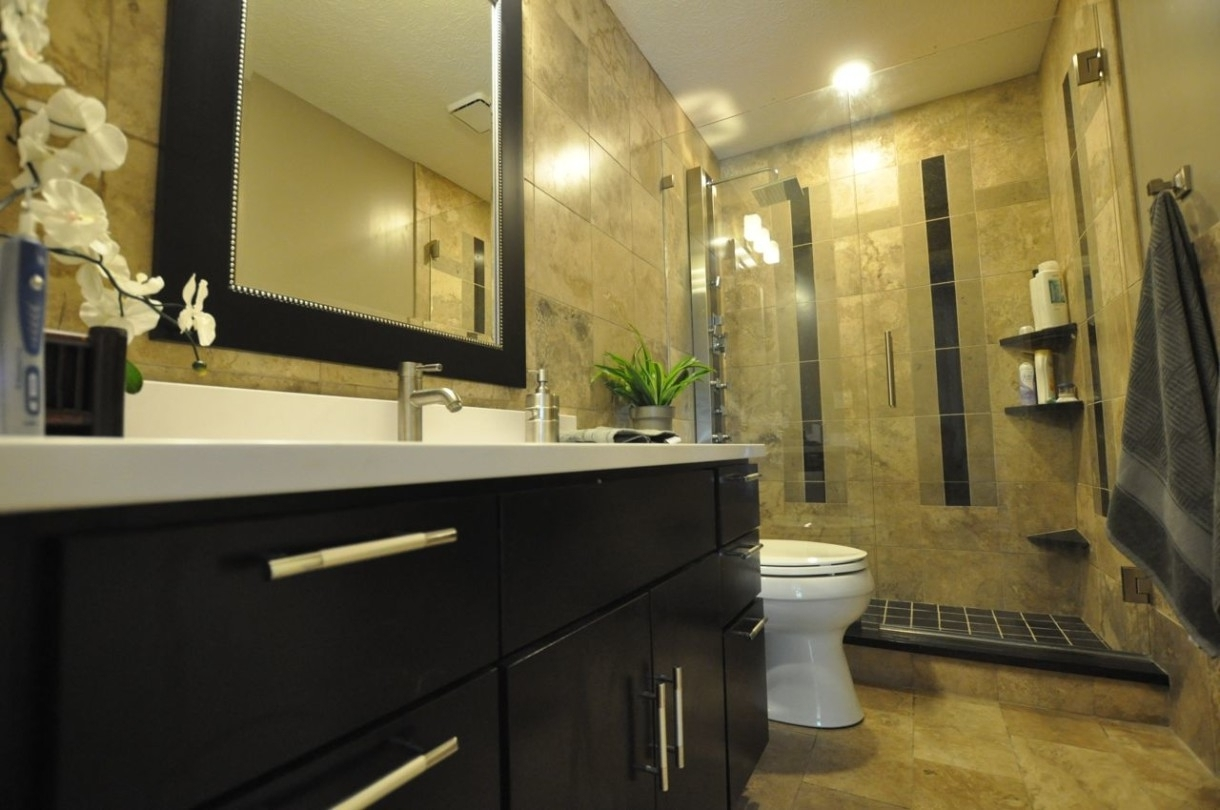 Spacious Photo Gallery As Bathroom Designs With Magnificent Design Ideas Which Gives A Natural Sensation For Comfort Of Bathroom X (Image 18 of 29)