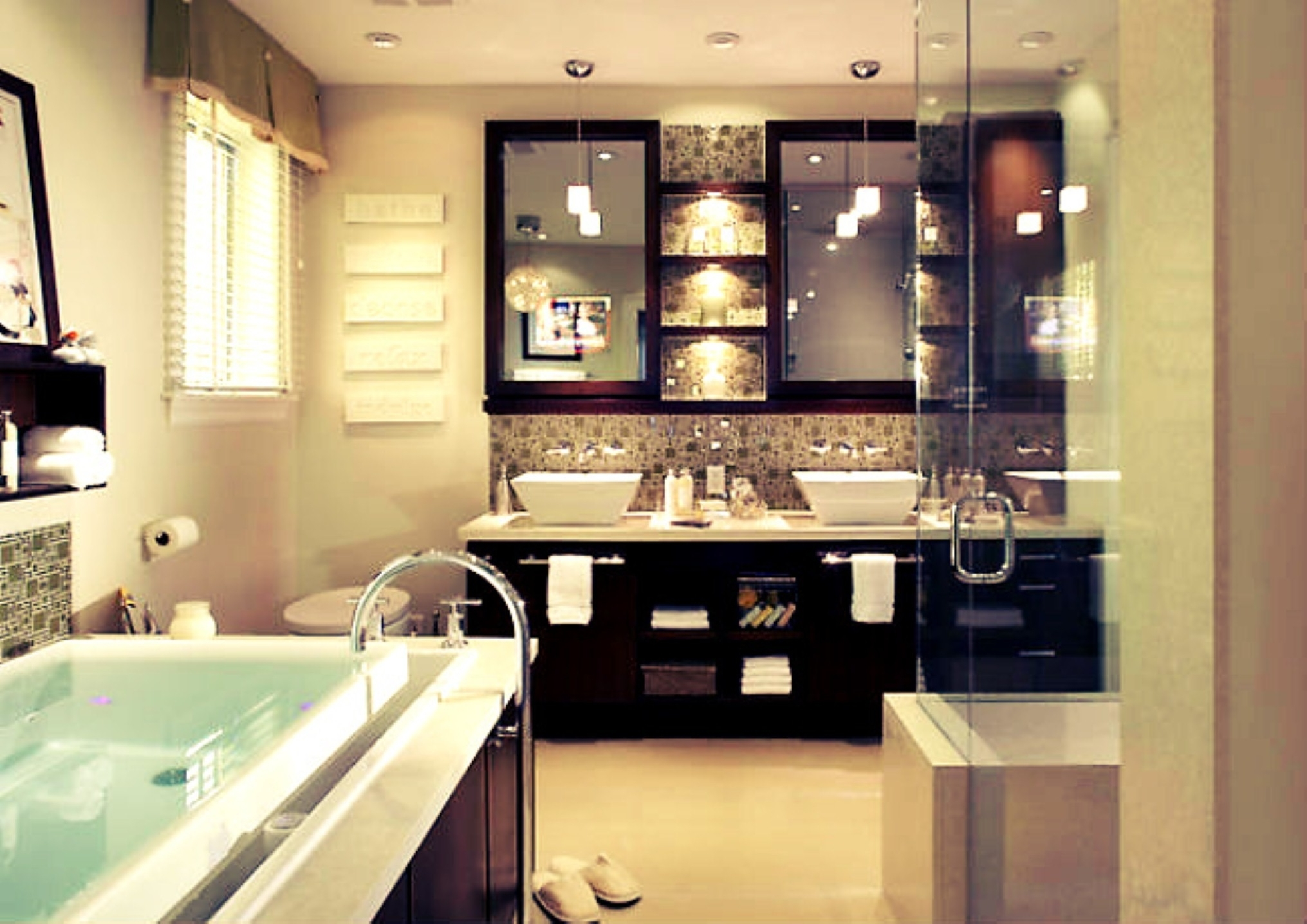 Stylish bathroom remodel 2017 custom home design for Bathroom remodel examples