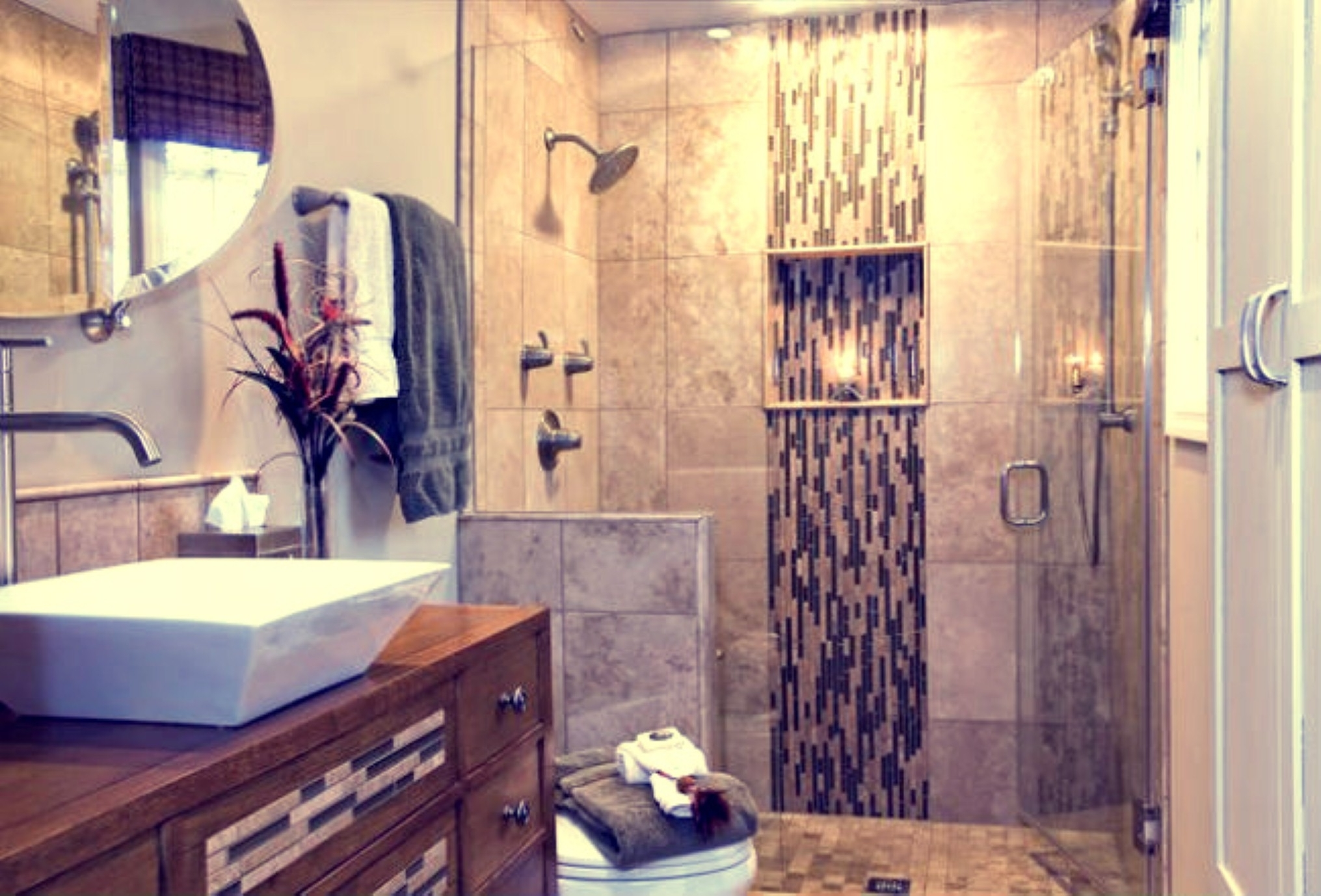 Stylish Bathroom Remodel With Various Examples Of Best Decoration Of Bathroom To The Inspiration Modern Design Ideas (View 20 of 23)