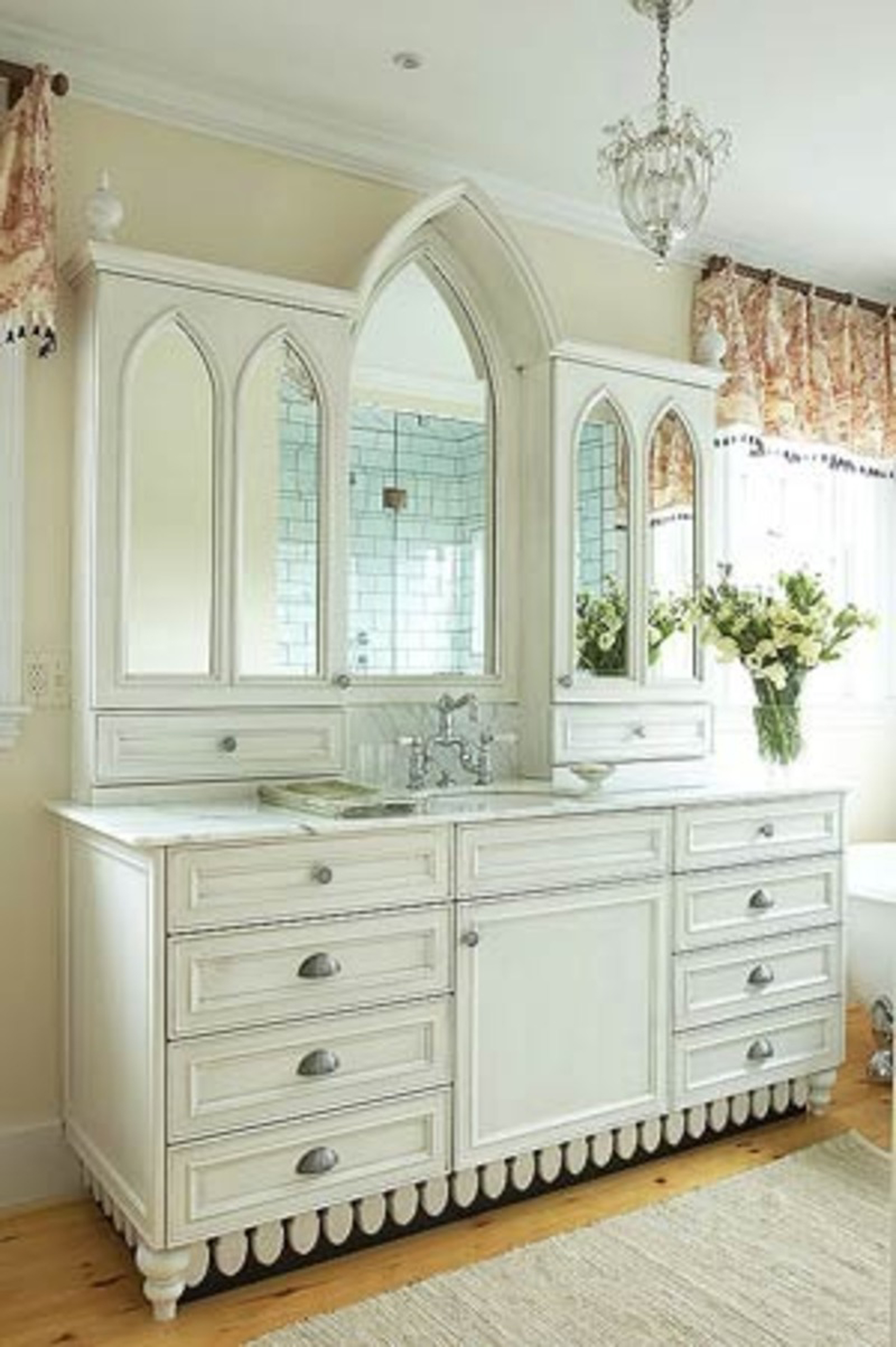 2011  White Bathroom Vanity Photos, Design Ideas And More (View 11 of 23)