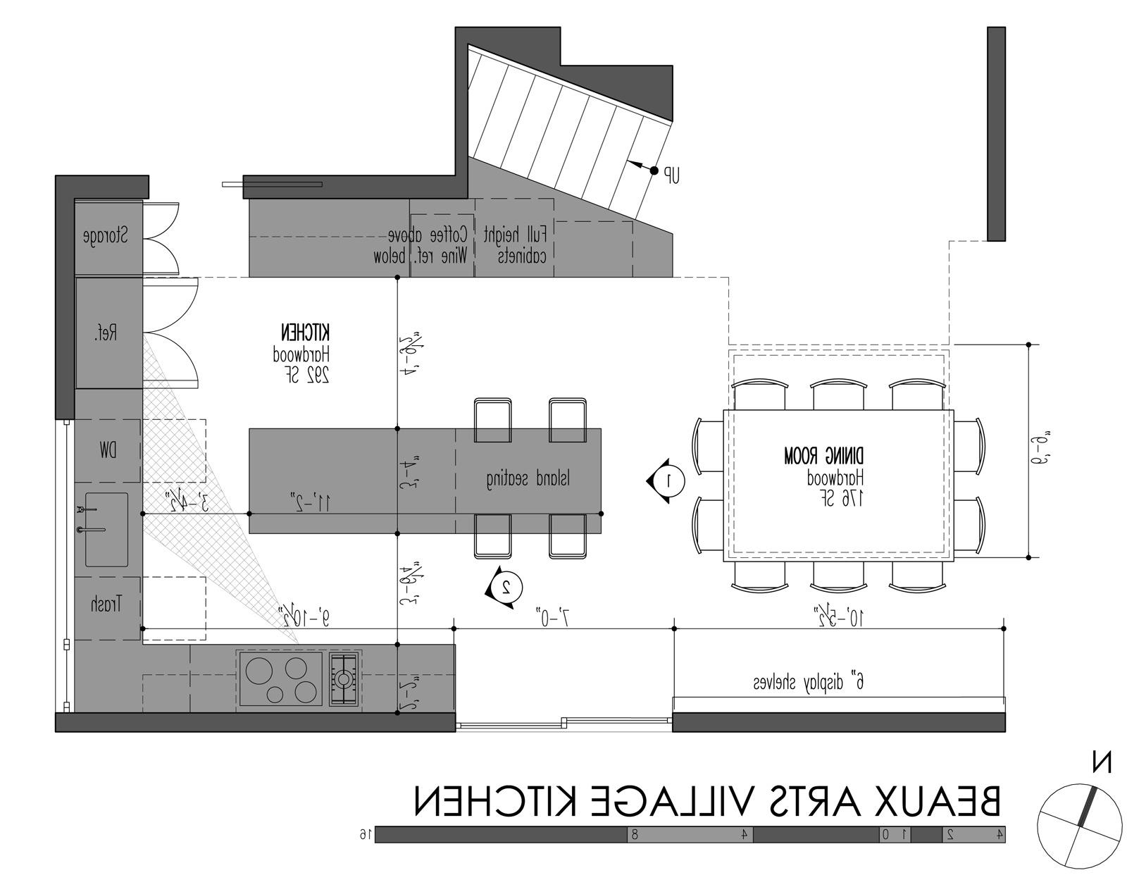Kitchen Arts Archicad Cad Autocad Drawing Plan Portfolio Blueprint Inspiration Design Ideas Village Kitchen Plan The Philosophy Of Online Kitchen Layout (Image 22 of 38)