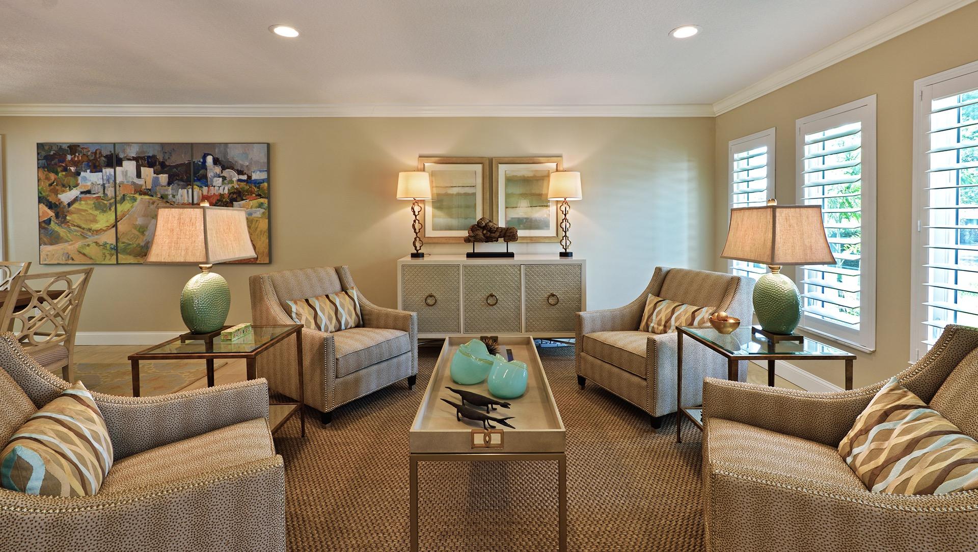 Tips while opting for living room flooring ideas custom for Brown carpet living room ideas