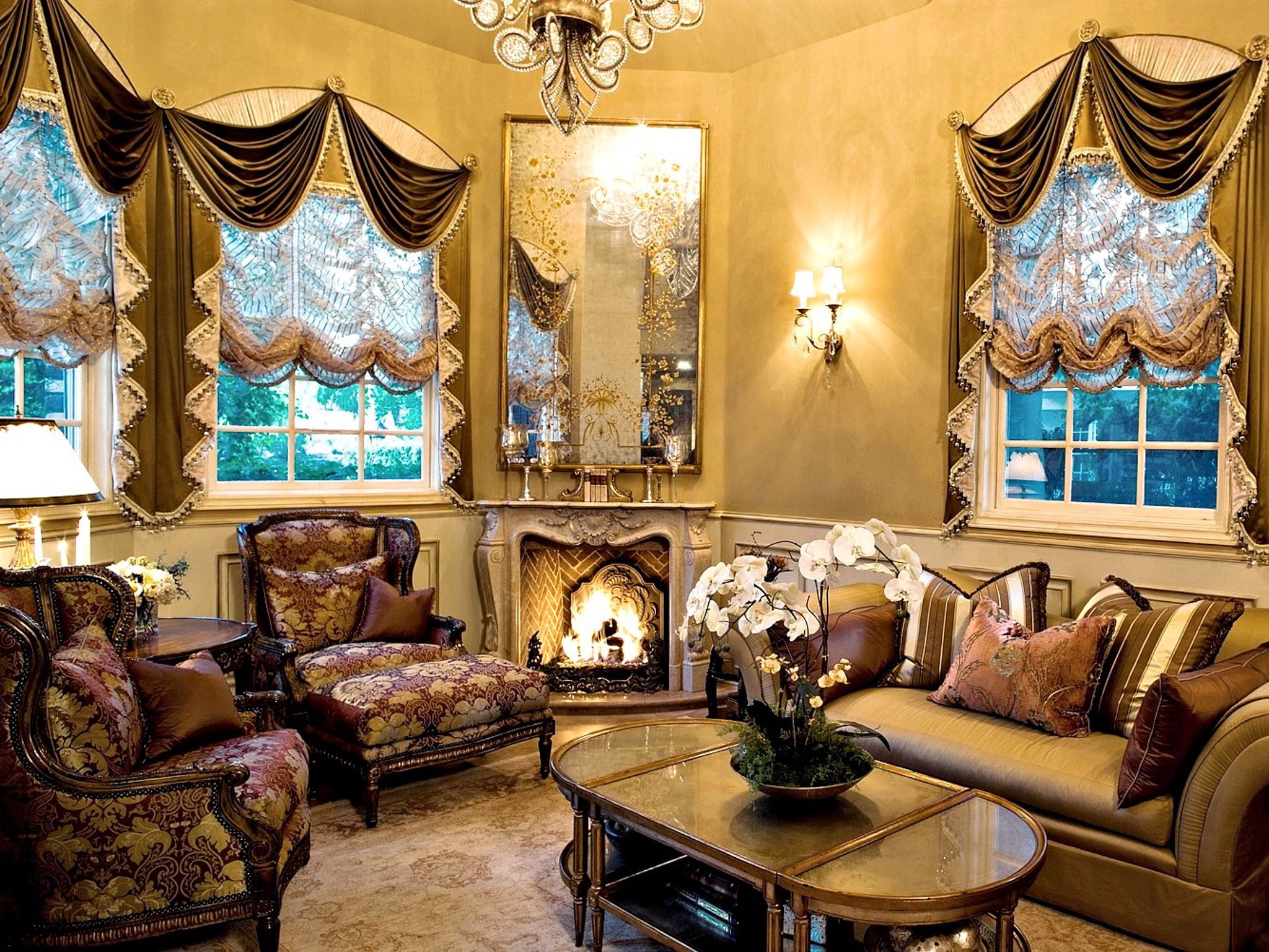 Classic Moroccan Inspired Living Room (View 18 of 25)