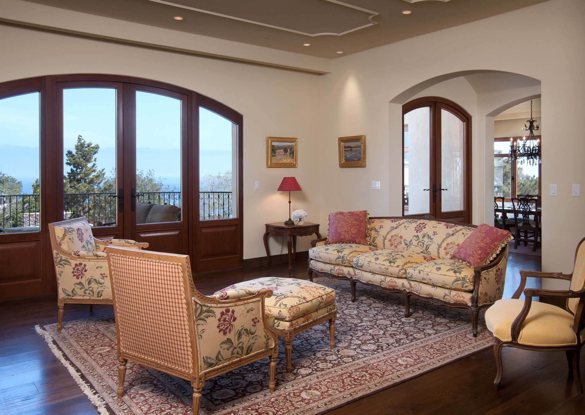 French Country Living Room  (Image 9 of 18)
