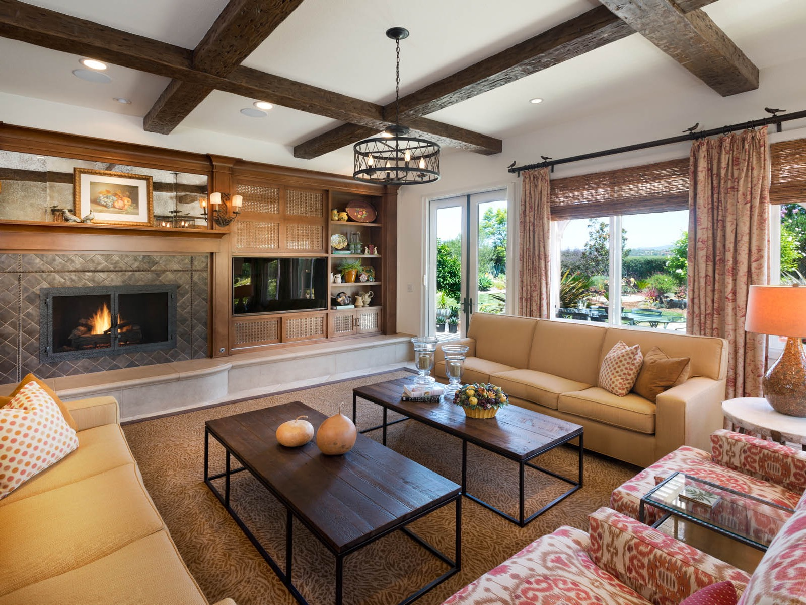 Western style living room design living room for Living room design styles