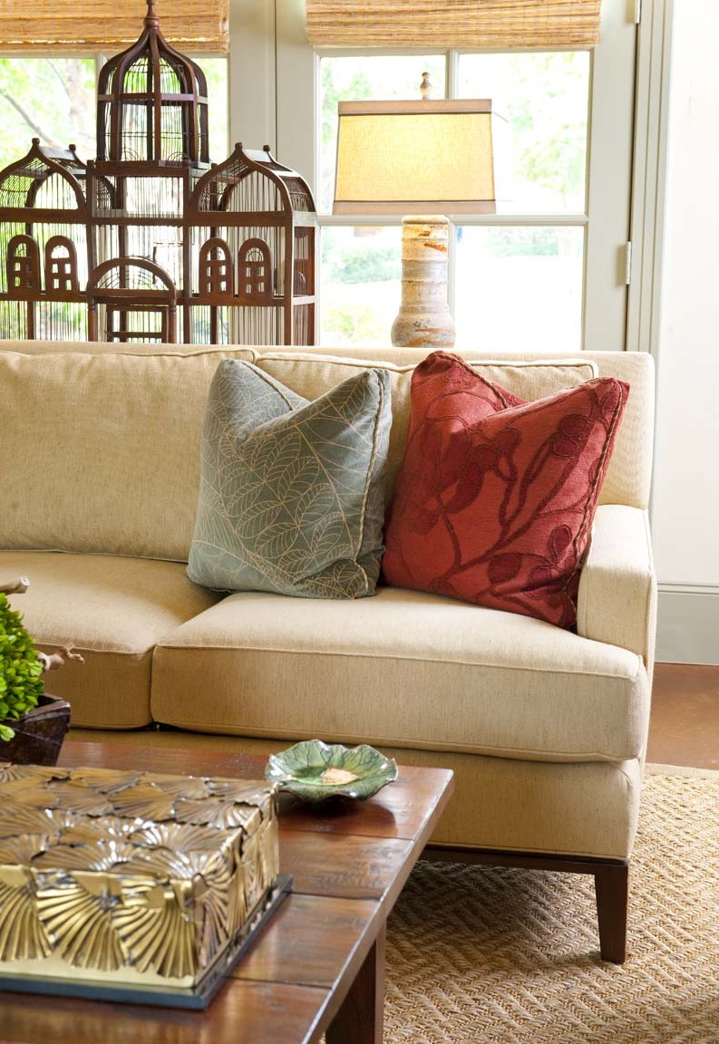 Moroccan Details Blend Into Contemporary Living Room (View 17 of 25)