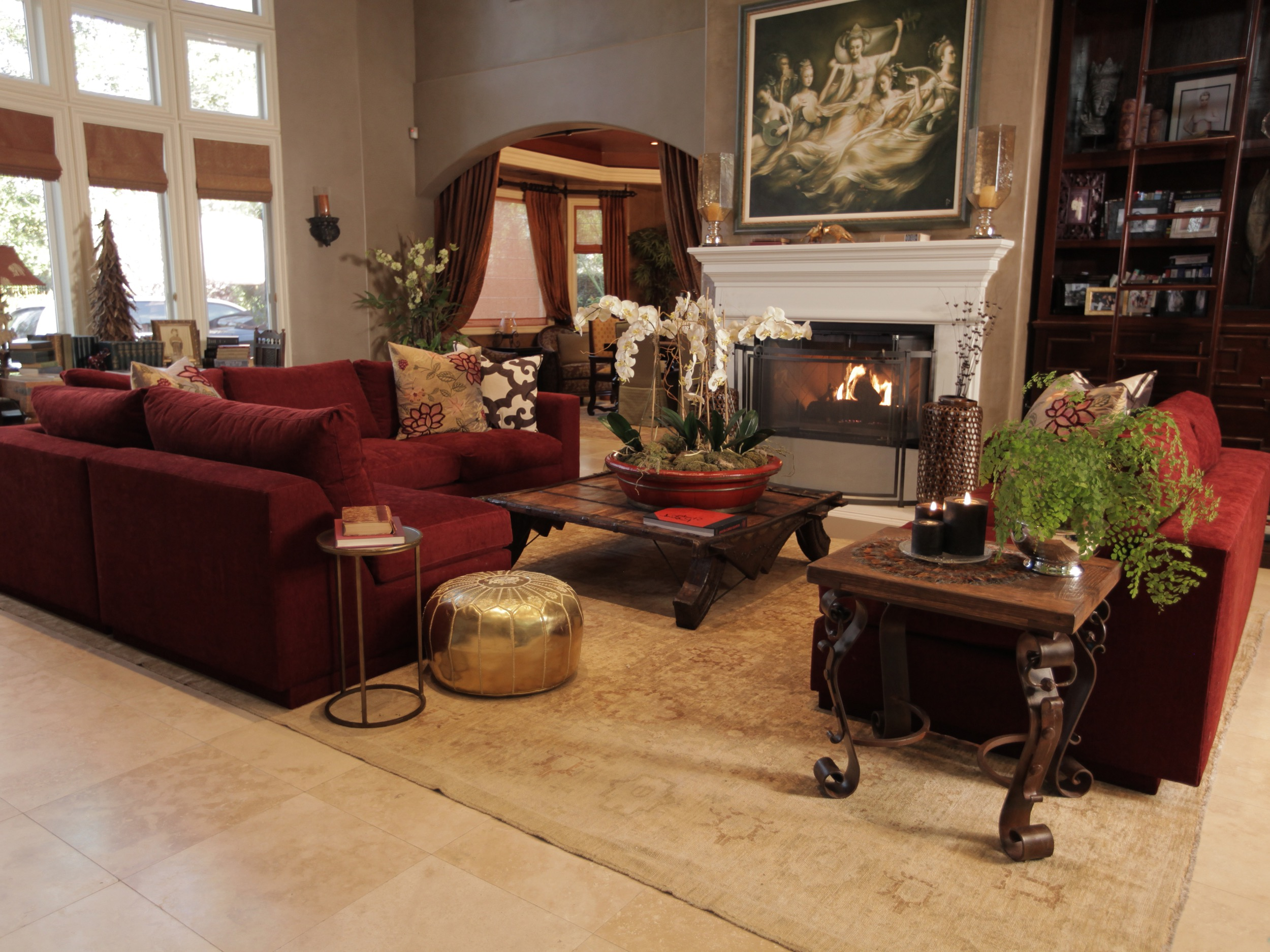 Moroccan Inspired Living Room Interior Decor (View 5 of 25)
