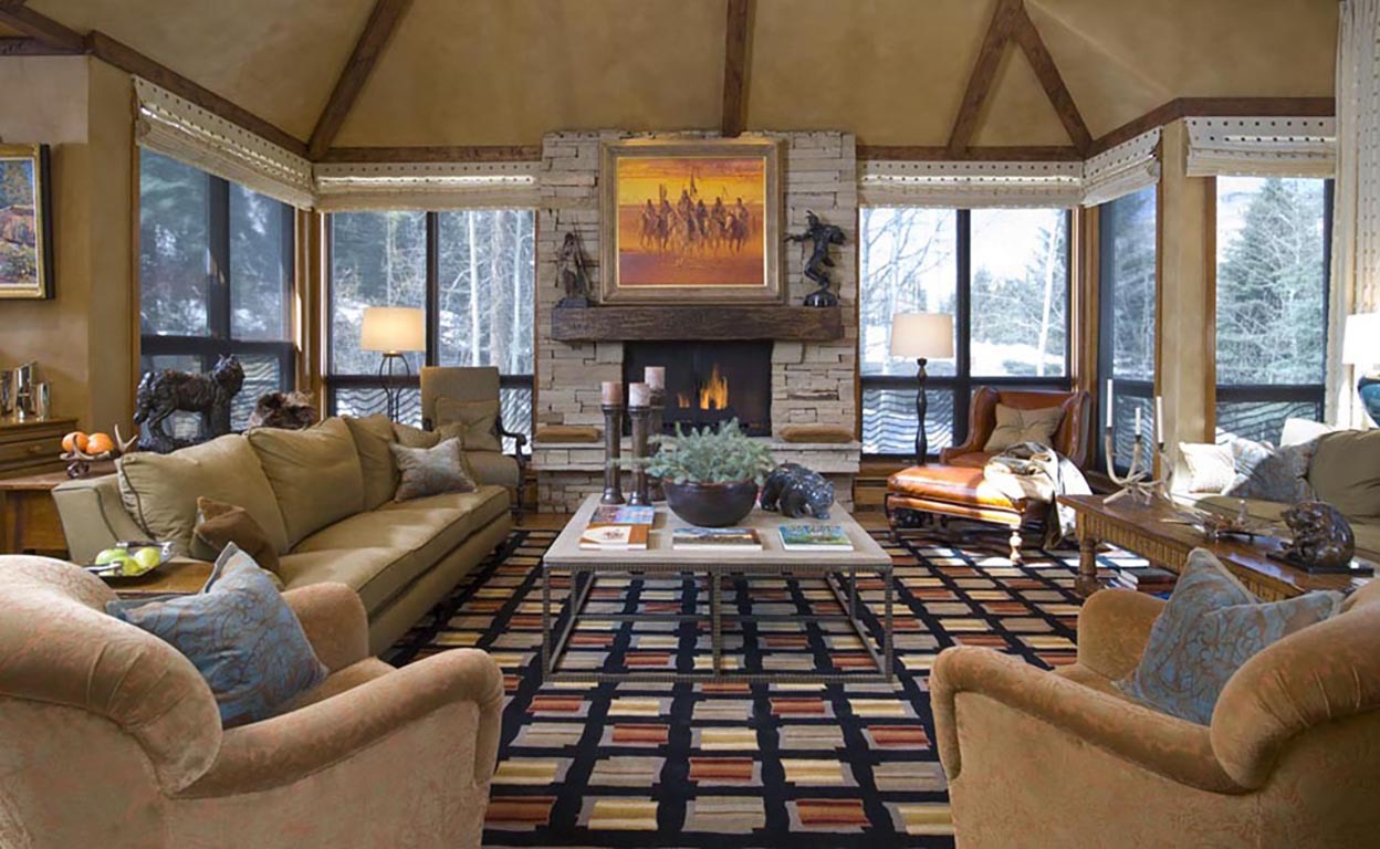 Rustic Living Room With Old Western Feel (View 15 of 18)