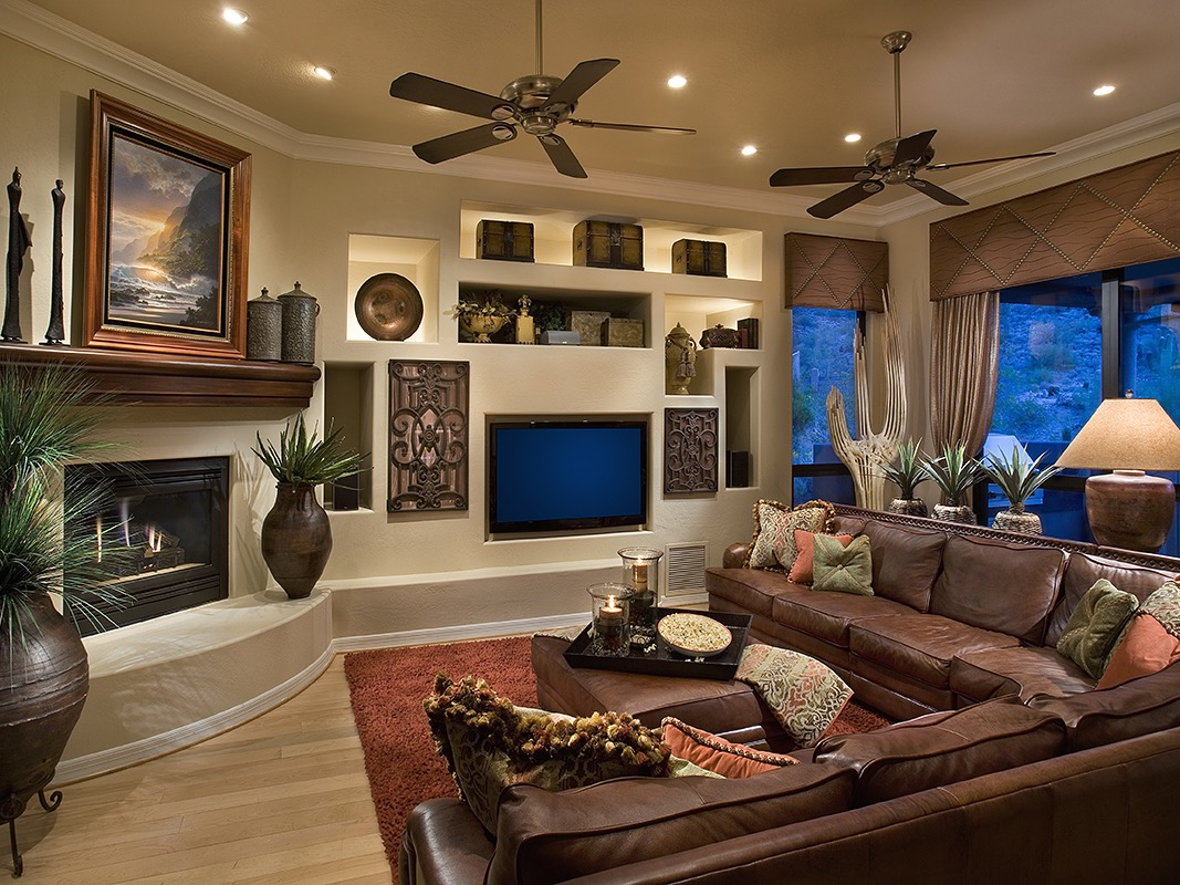 Southwestern Living Room With Modern Nuance (View 12 of 18)