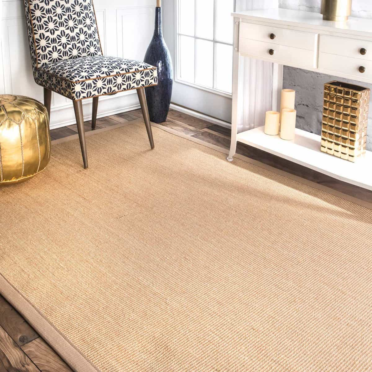 7×9 Sisal Rug For Living Room Area (Image 2 of 15)