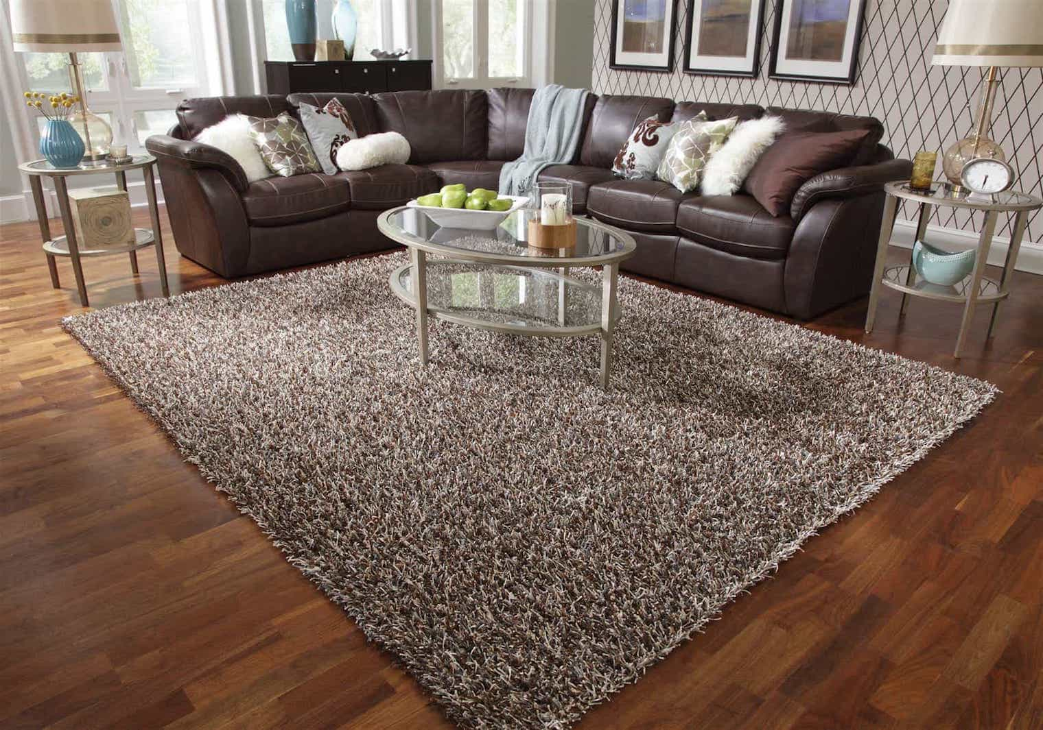 Affordable Safavieh Darius Hand Tufted Shag Area Rug Or Runner (Image 1 of 15)