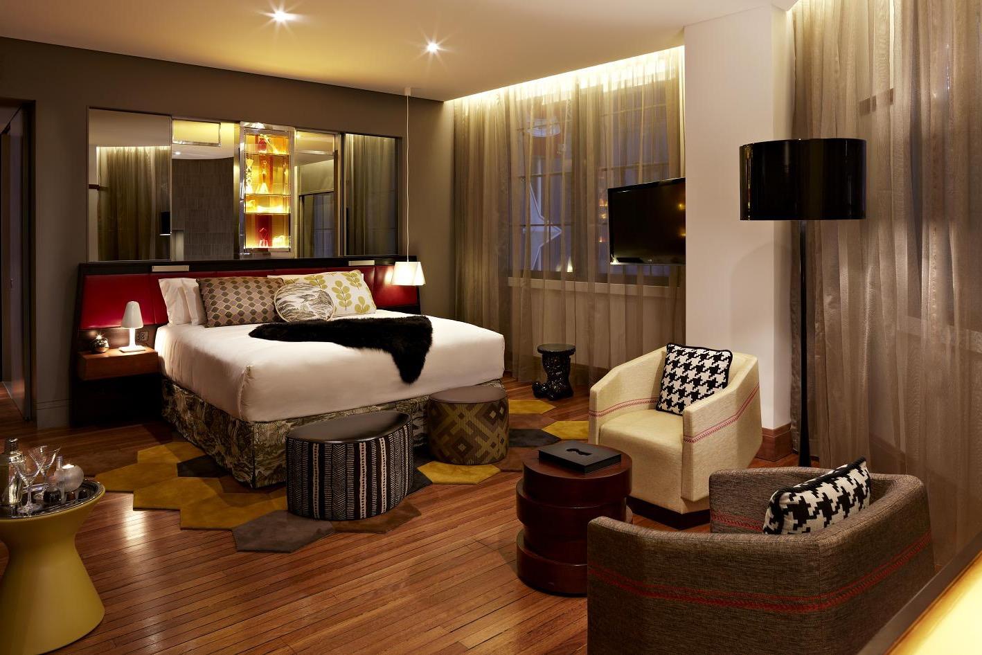 Art Deco Lighting Decor For Contemporary Bedroom (View 6 of 13)