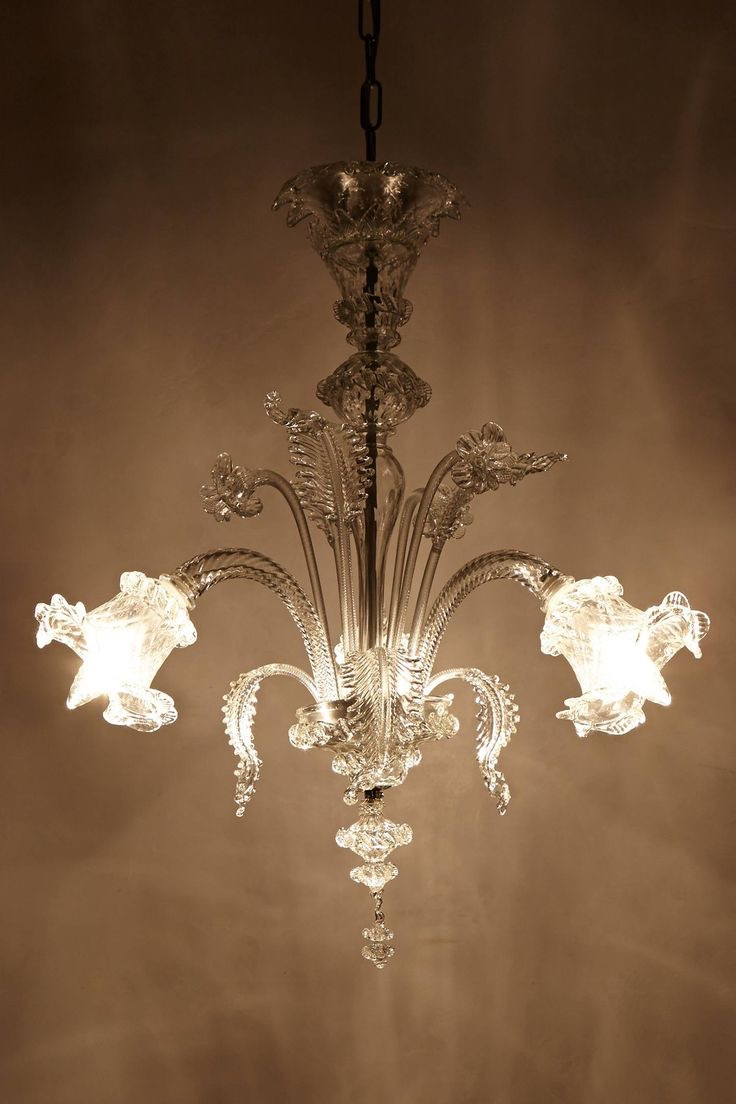 Cheap Glass Chandelier Lighting (Image 4 of 15)