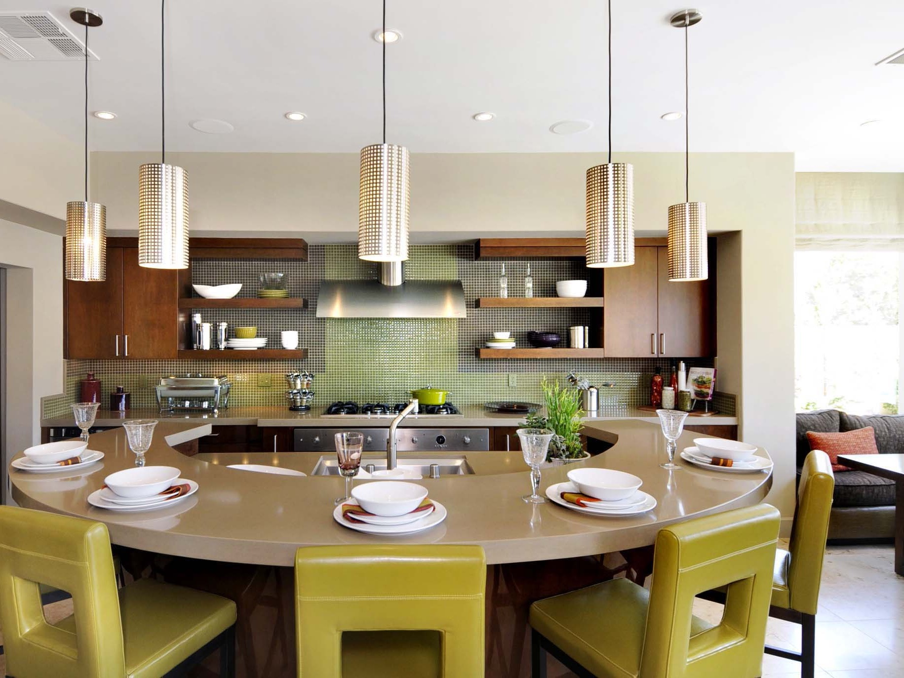 Contemporary Hanging Lamps For Kitchen Bar (View 9 of 20)