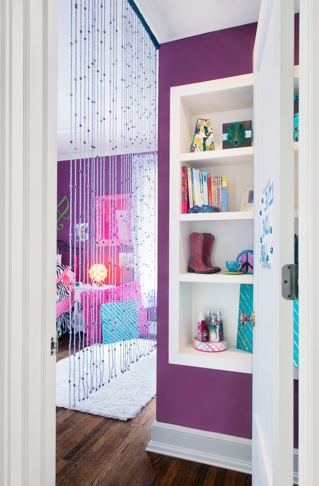 Cozy Beaded Curtain For Kids Room (Image 10 of 20)
