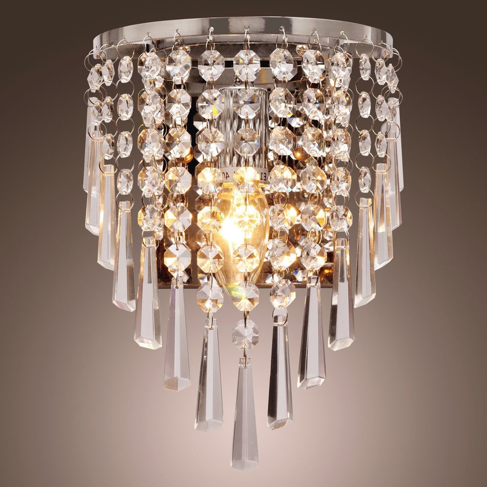 Deluxe Crystal Chandelier (View 12 of 15)