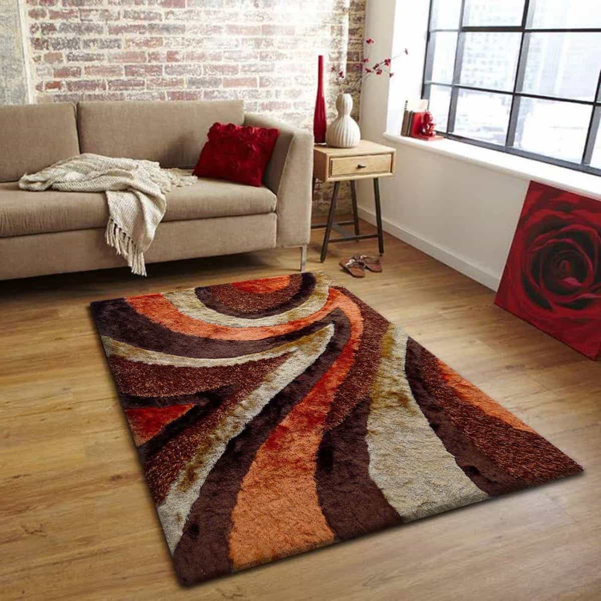 Ecarpetgallery Yeti Shag Rug For Living Room (View 9 of 15)