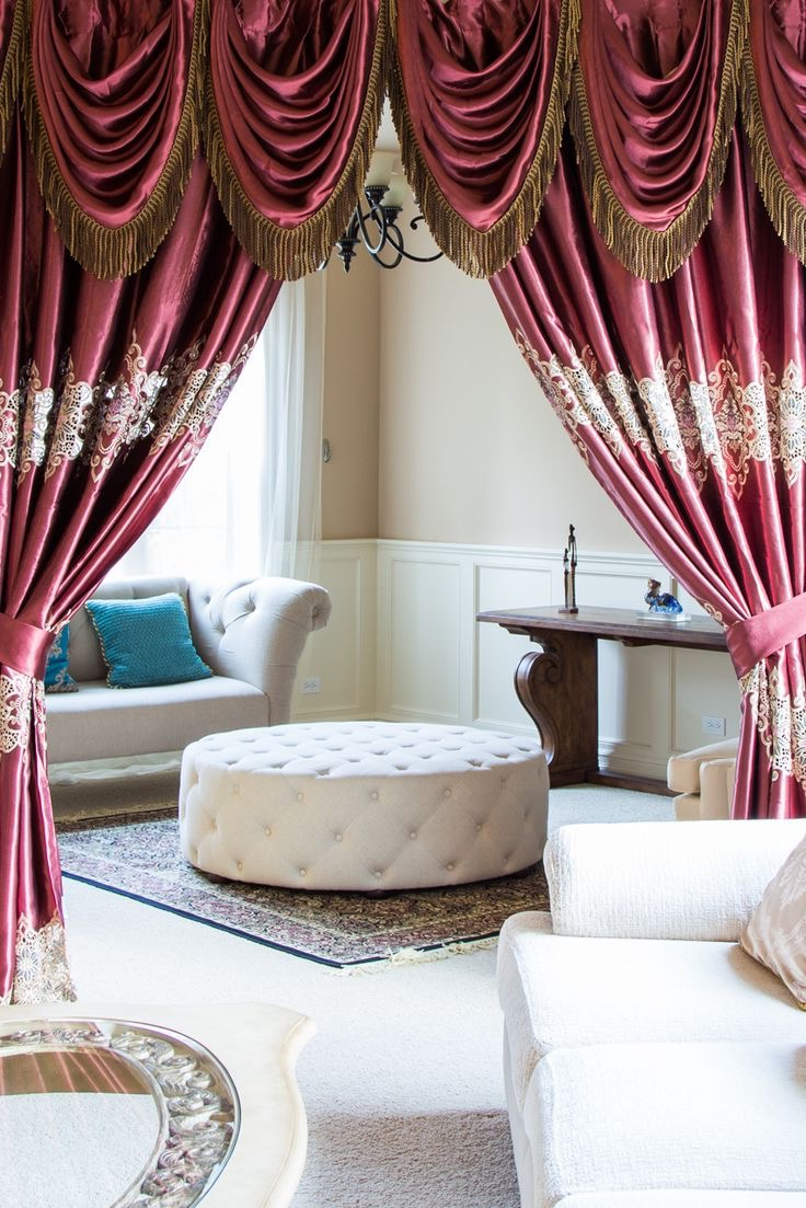 Elegance Silk Curtain For Living Room Divider (View 11 of 20)
