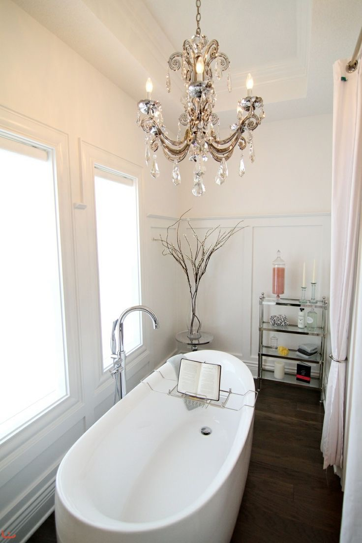 Elegant Cheap Bathroom Chandelier Lighting (Image 13 of 15)
