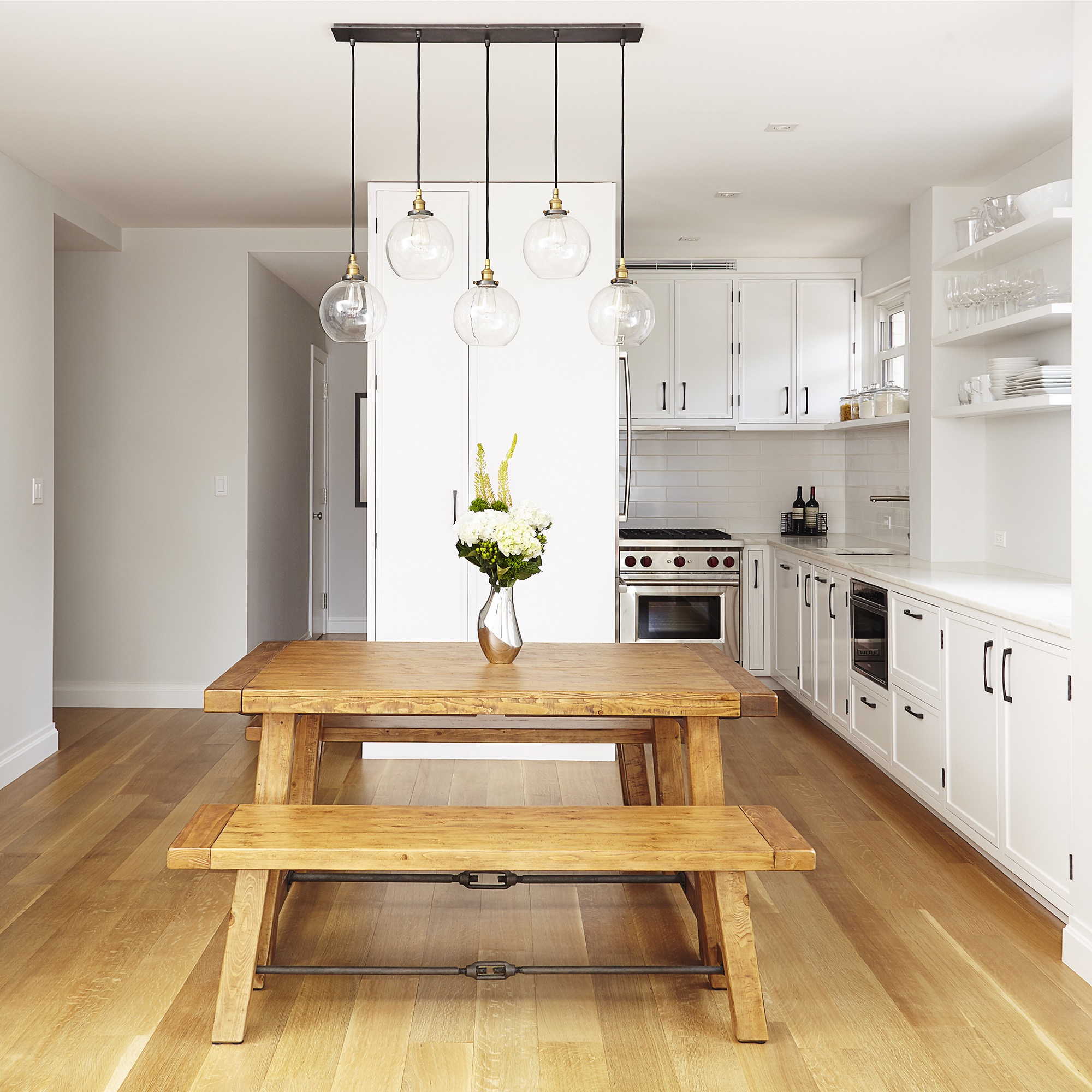 Globe Hanging Light Fixture For Modern Kitchen (Image 13 of 20)