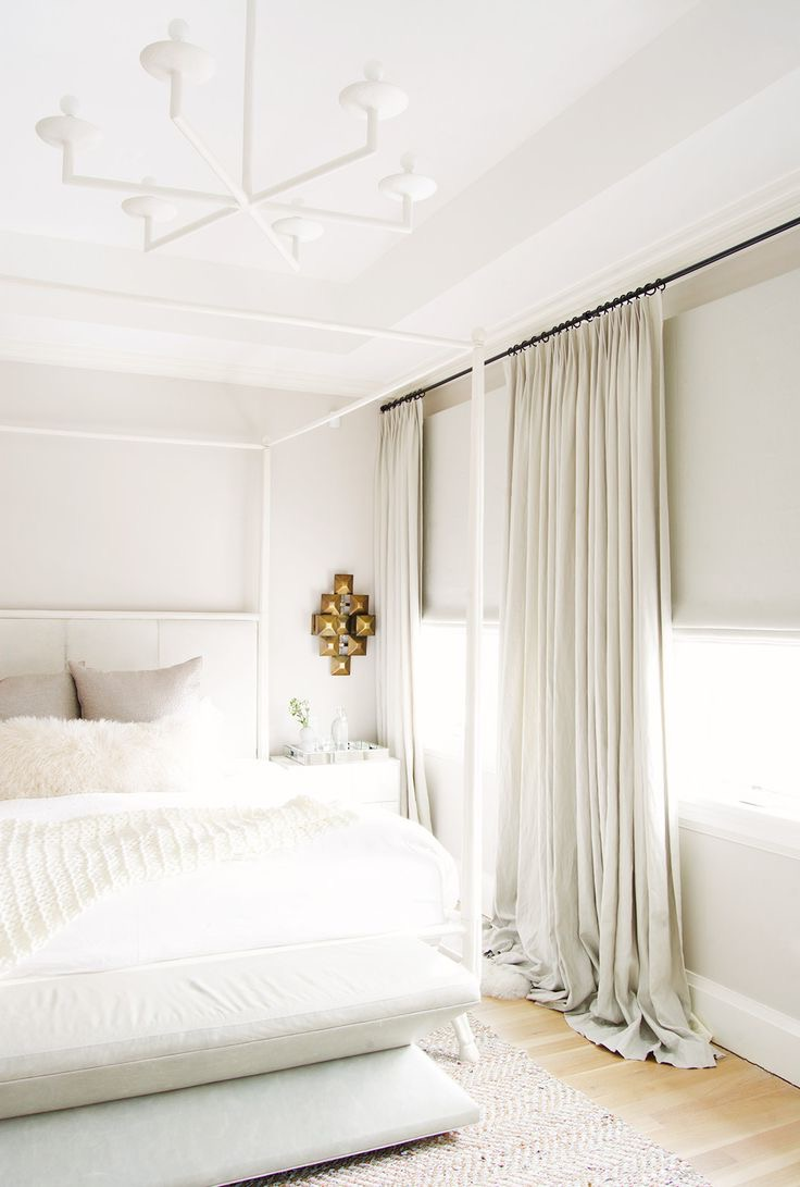 Long Sheer Curtain For Minimalist Bedroom Decor (Image 6 of 12)