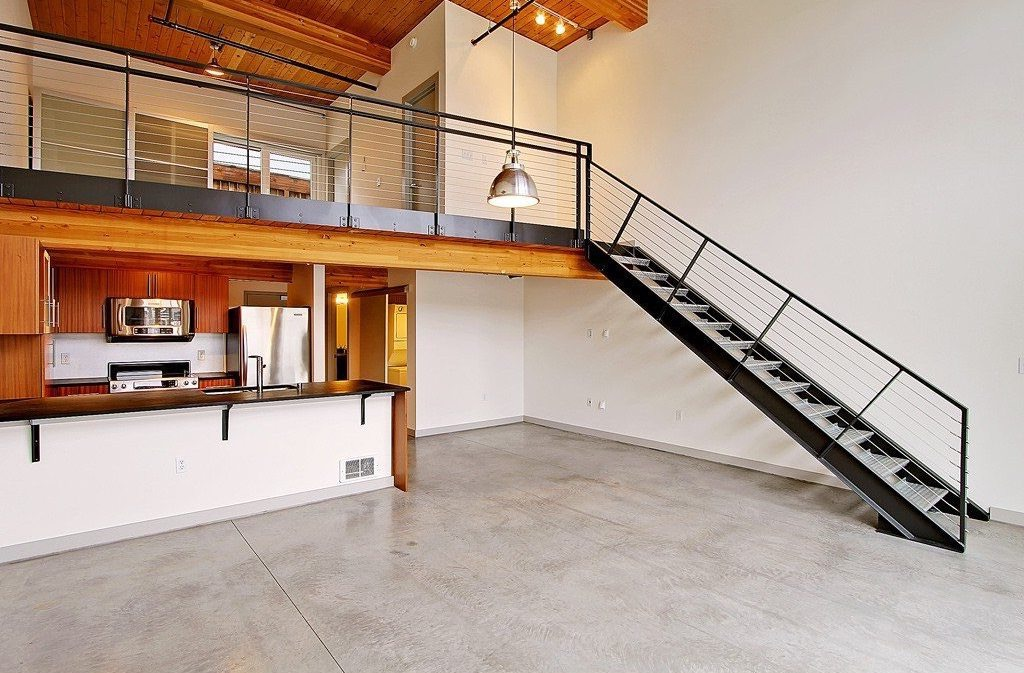Metal Loft Stairs In Modern Design (Image 5 of 10)