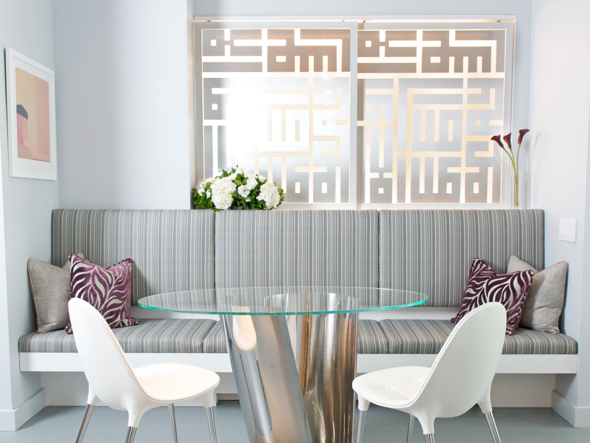 Minimalist Dining Room Dividers Decorative Design (View 3 of 14)