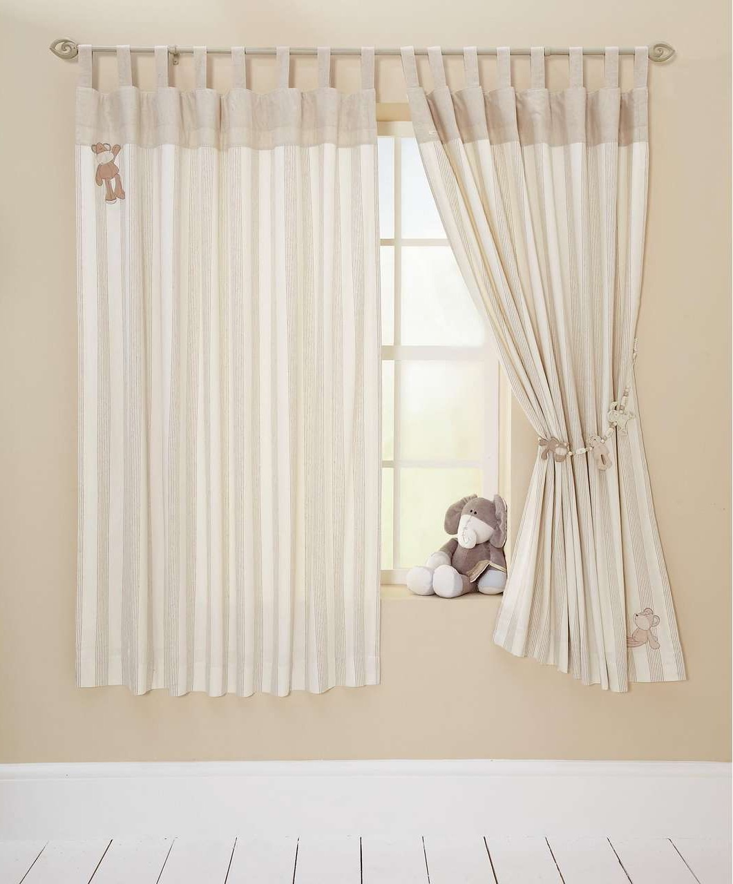 Minimalist Nursery Curtains (Image 8 of 12)