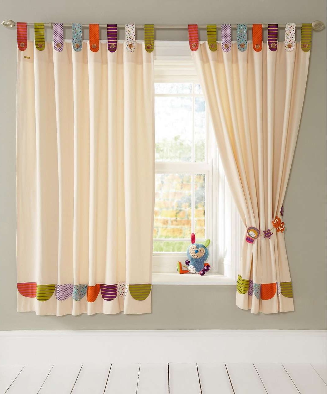 Modern Cute Nursery Curtains (View 10 of 12)