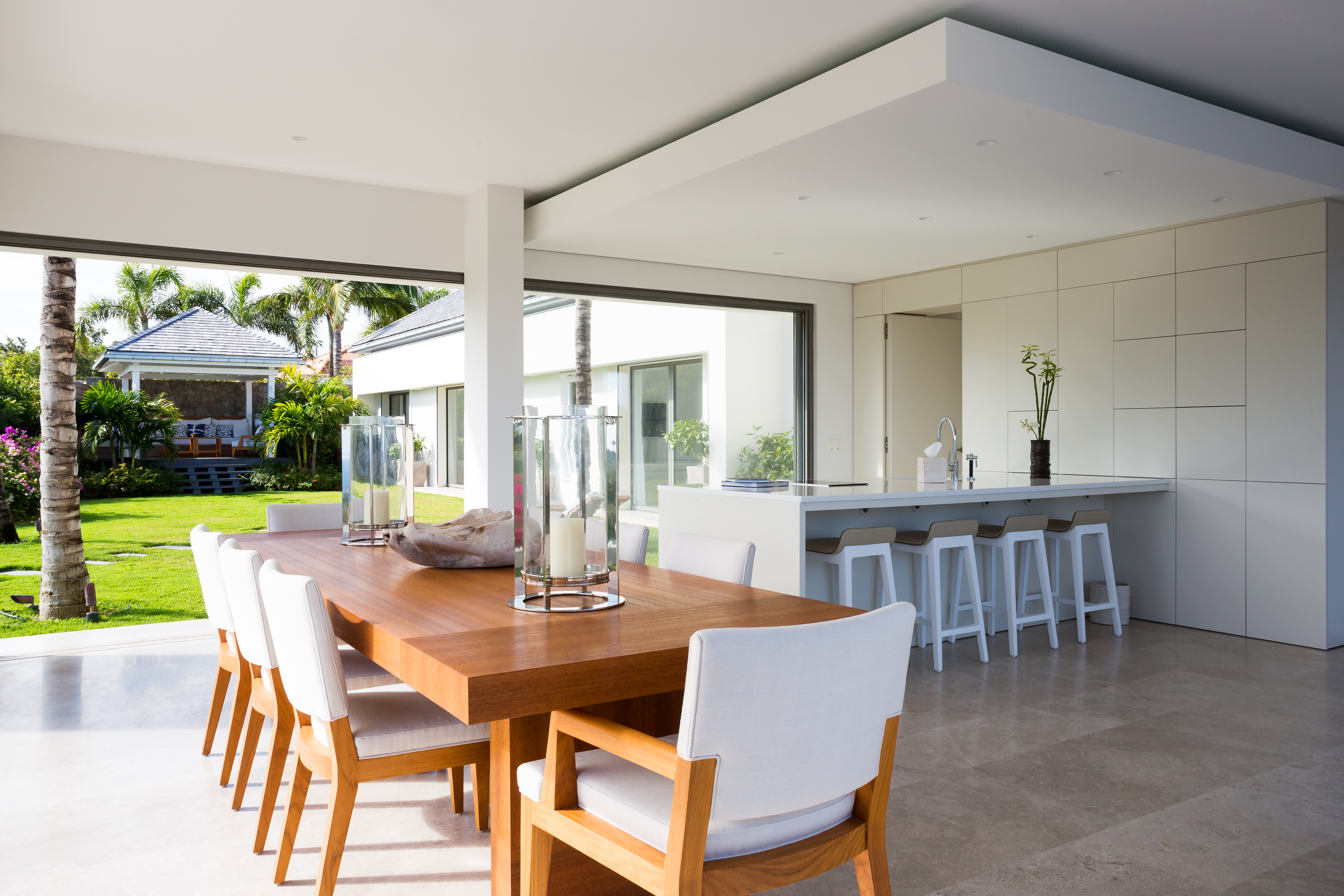 Modern Hurricane Lamp For Contemporary Open Dining Room (View 12 of 13)