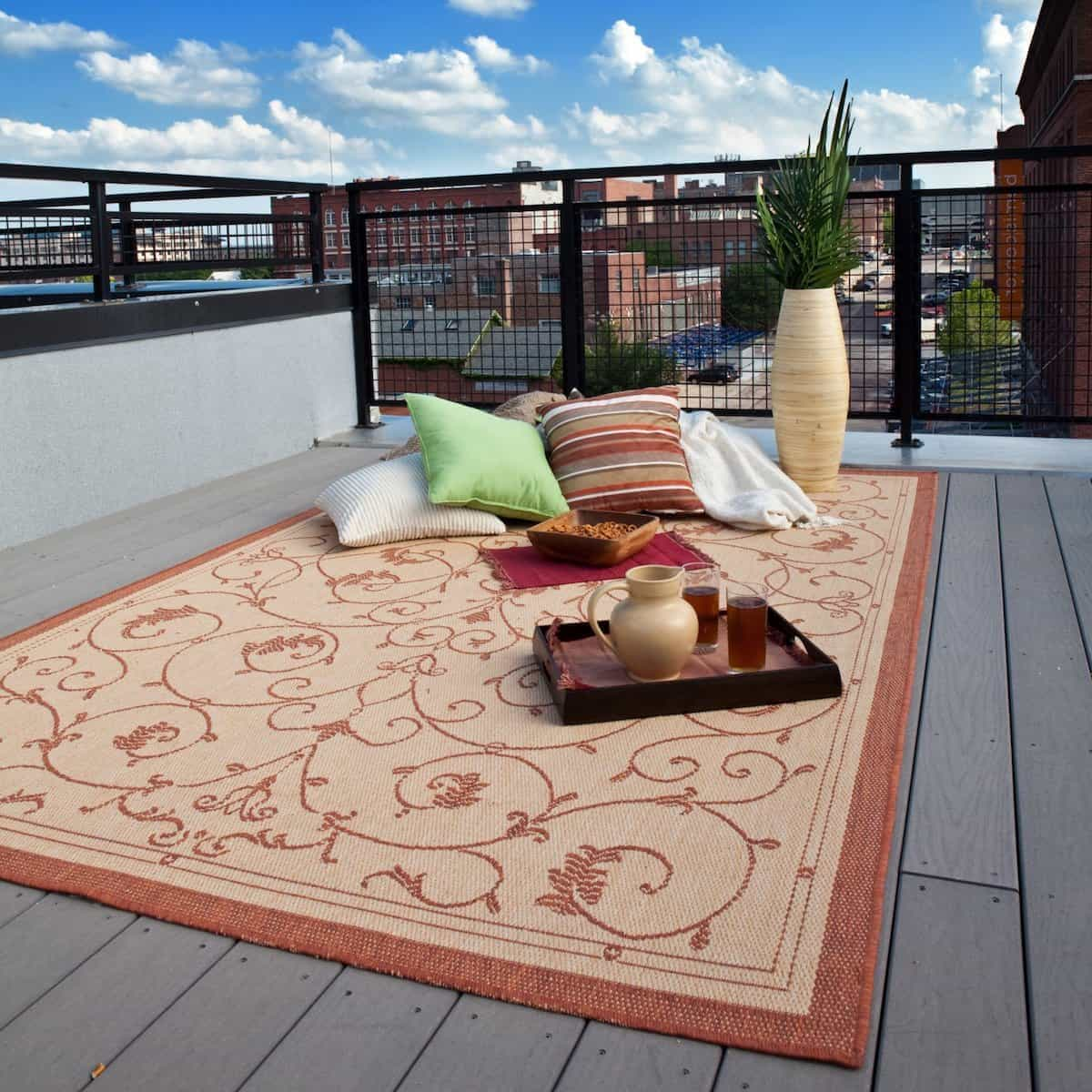 Orian Rugs Outdoor Area Rug Collection For Outdoor Ambiance (View 2 of 15)