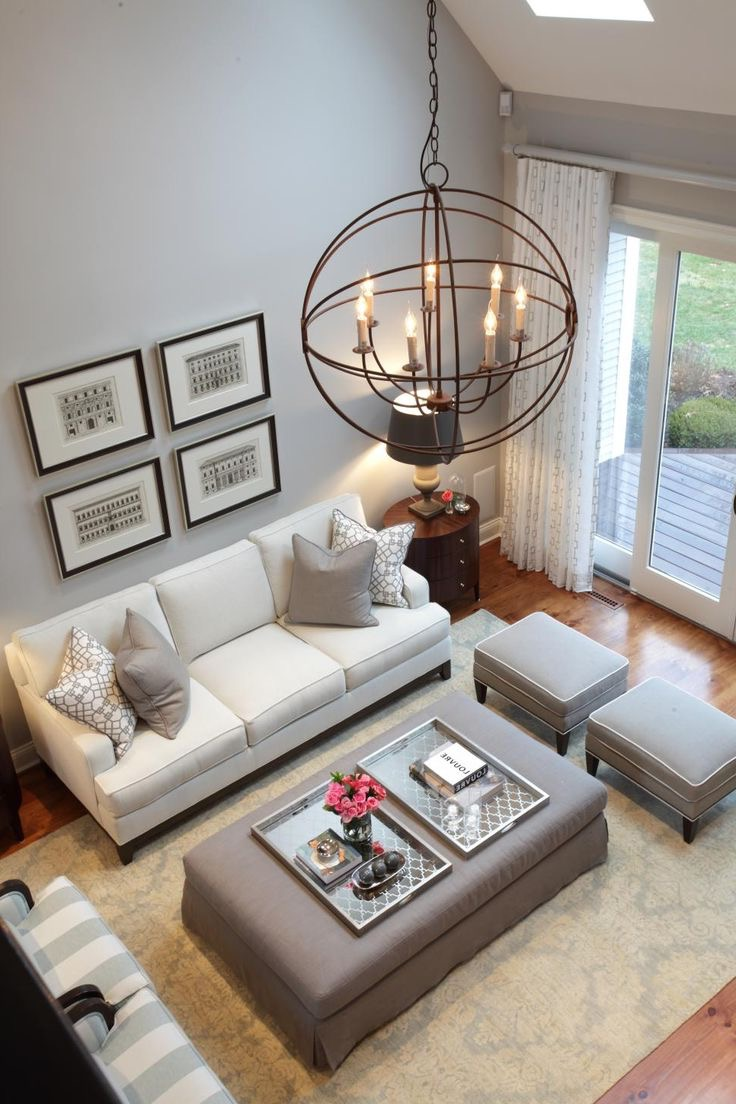 Rustic Chandelier For Modern Living Room (View 15 of 15)