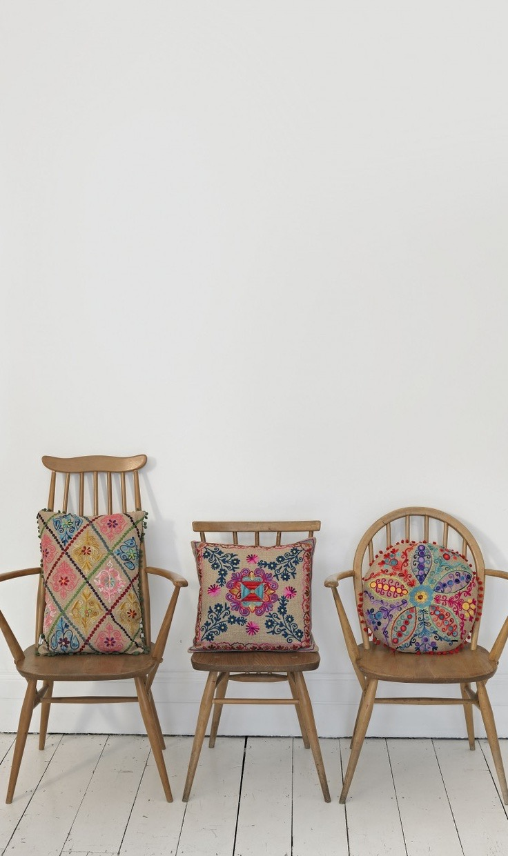 Shabby Chic Chair Cushions (Image 10 of 11)