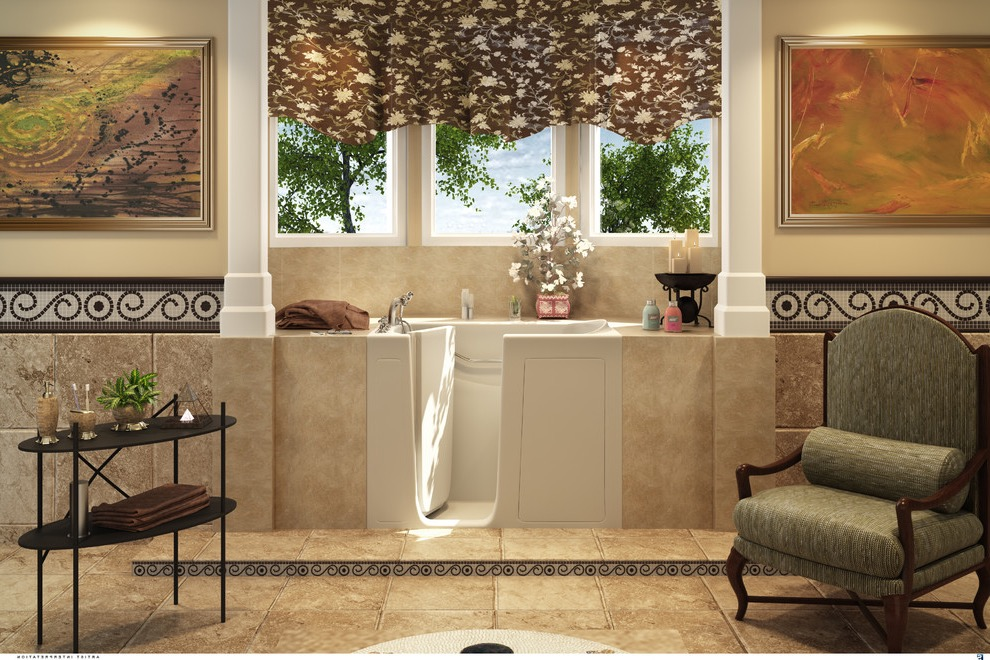 Small Walk In Tubs In Traditional Design (Image 13 of 15)
