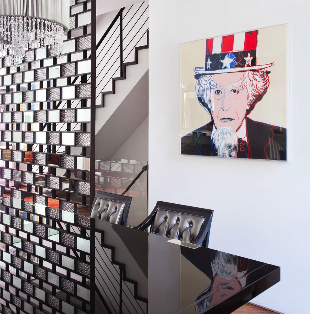 Textured Glass Bricks Room Divider For Modern Dining Room (View 7 of 14)