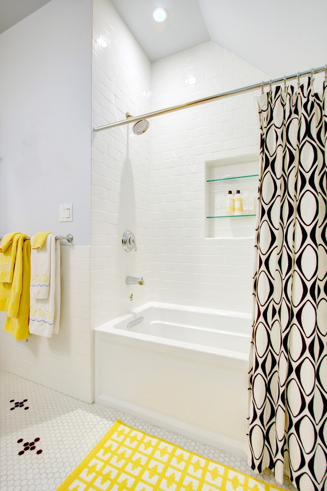 Cozy Shower Mats Yellow (Image 7 of 15)