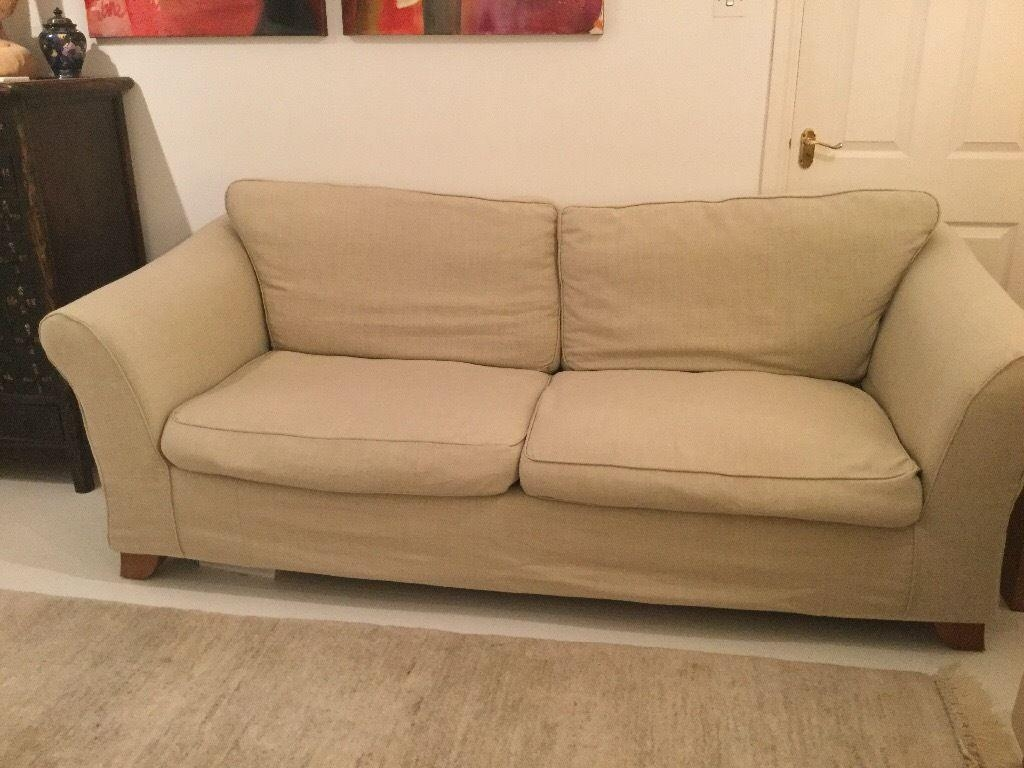 1 Marks And Spencer Abbey Sofa - Good Condition With Loose Covers for Marks and Spencer Sofas and Chairs