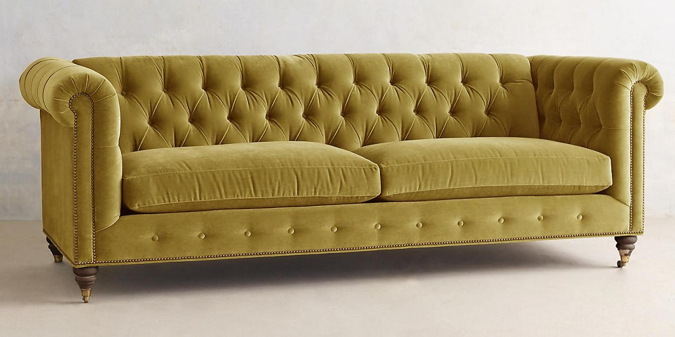 10 Best Chesterfield Sofas In 2017 – Reviews Of Linen And Leather Inside Chesterfield Sofa And Chairs (View 15 of 20)