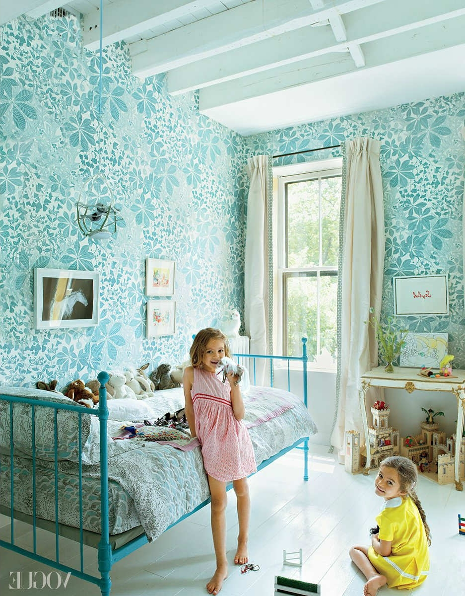 10 Floral Girls Rooms - Tinyme Blog intended for How to Decorate a Girls Room