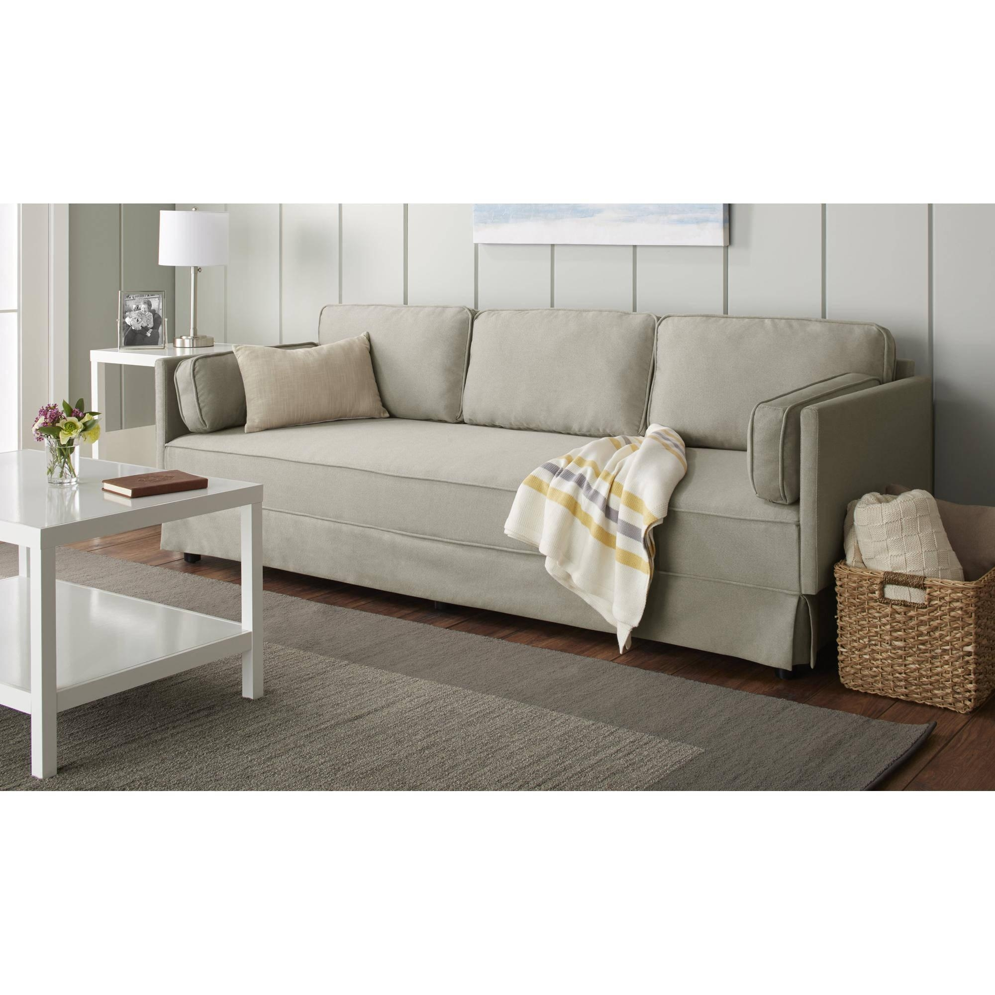 10 Spring Street Durant Sofa, Multiple Colors – Walmart With Wallmart Sofa (Image 3 of 20)