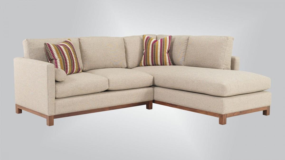 1045 – Sectional – Burton James Pertaining To Burton James Sectional Sofas (Image 2 of 20)