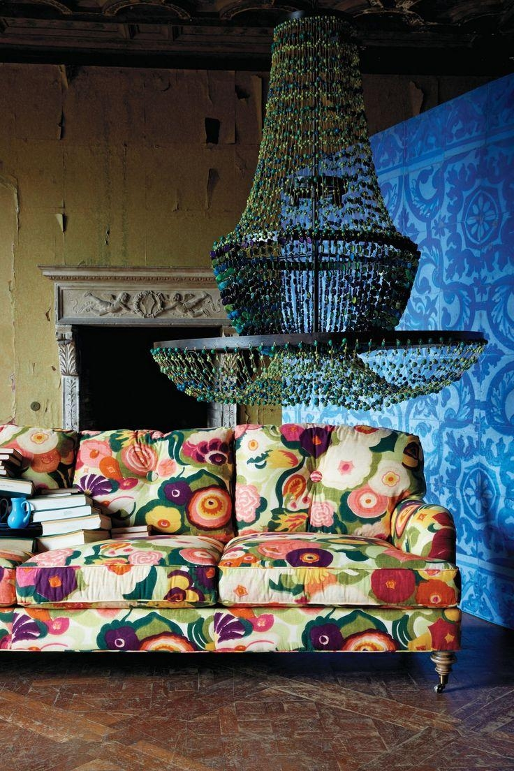117 Best Cool Furniture Images On Pinterest With Regard To Chintz Floral Sofas (Image 1 of 22)