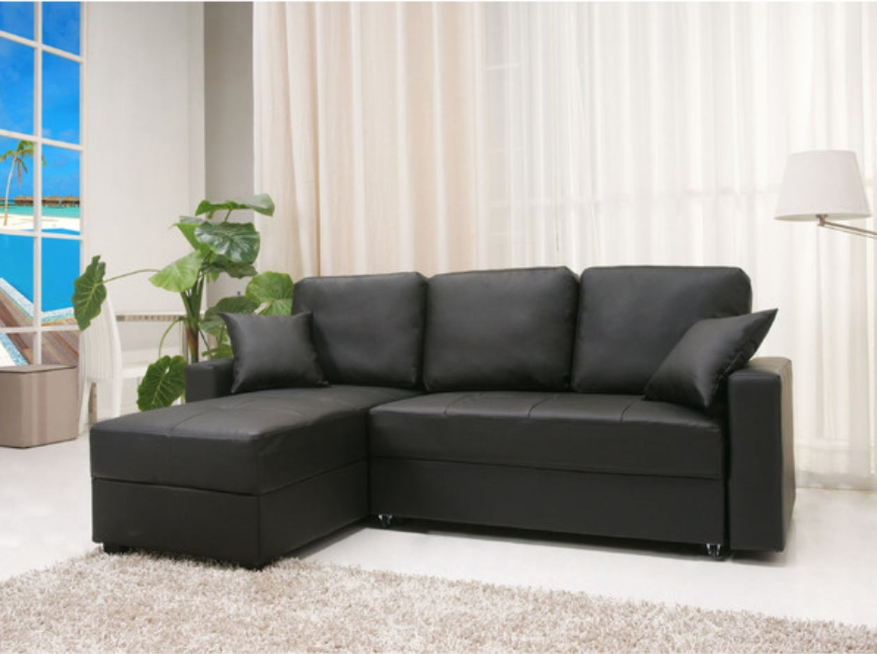 12 Affordable (And Chic) Sleeper Sofas For Small Living Spaces For Convertible Sectional Sofas (View 13 of 15)
