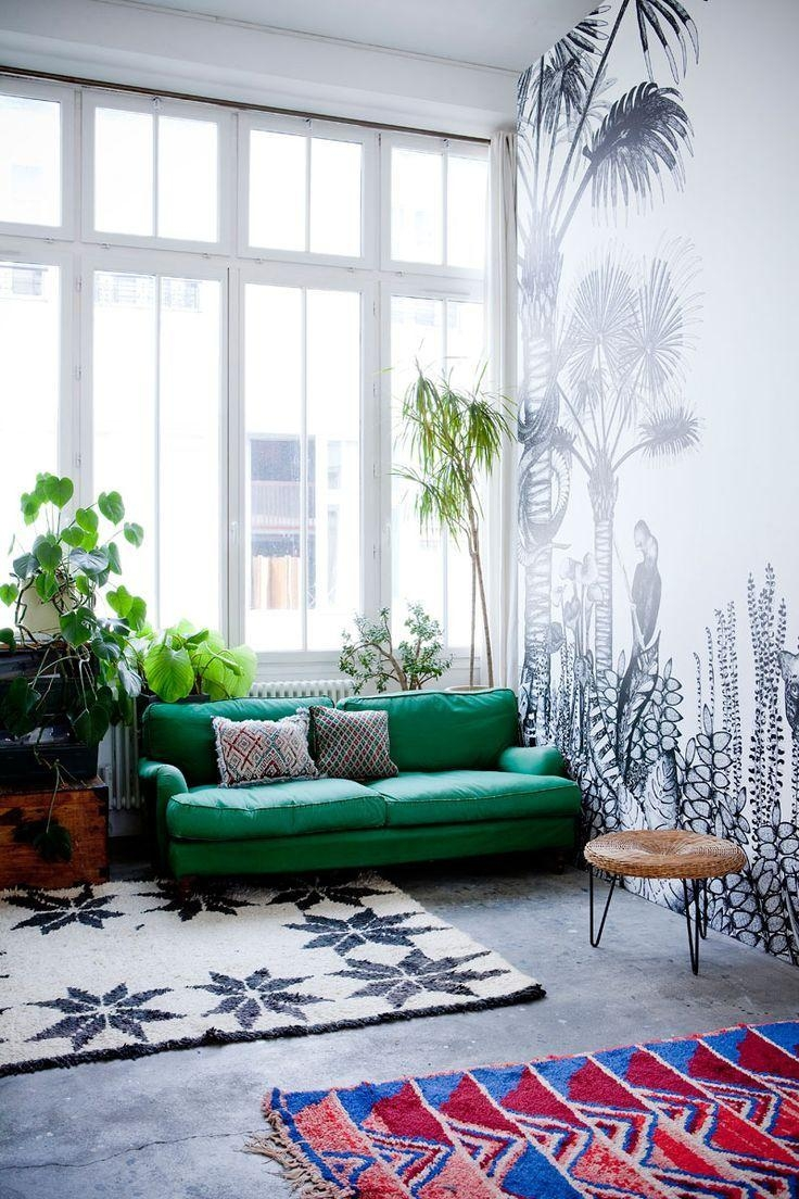 130 Best The Green Sofa Images On Pinterest | Architecture, Green  Throughout Emerald Green Sofas
