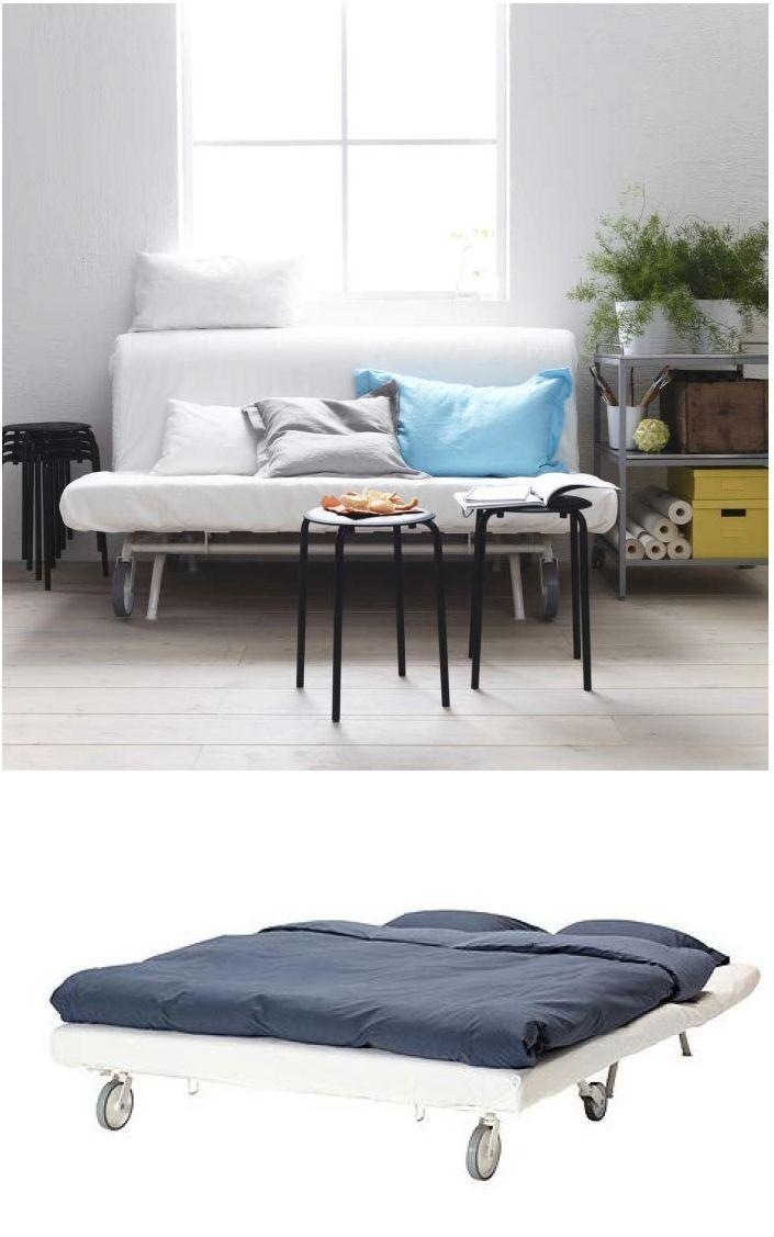 131 Best Sofa Cama Images On Pinterest | Sofa Beds, 3/4 Beds And With Regard To Casters Sofas (View 11 of 20)