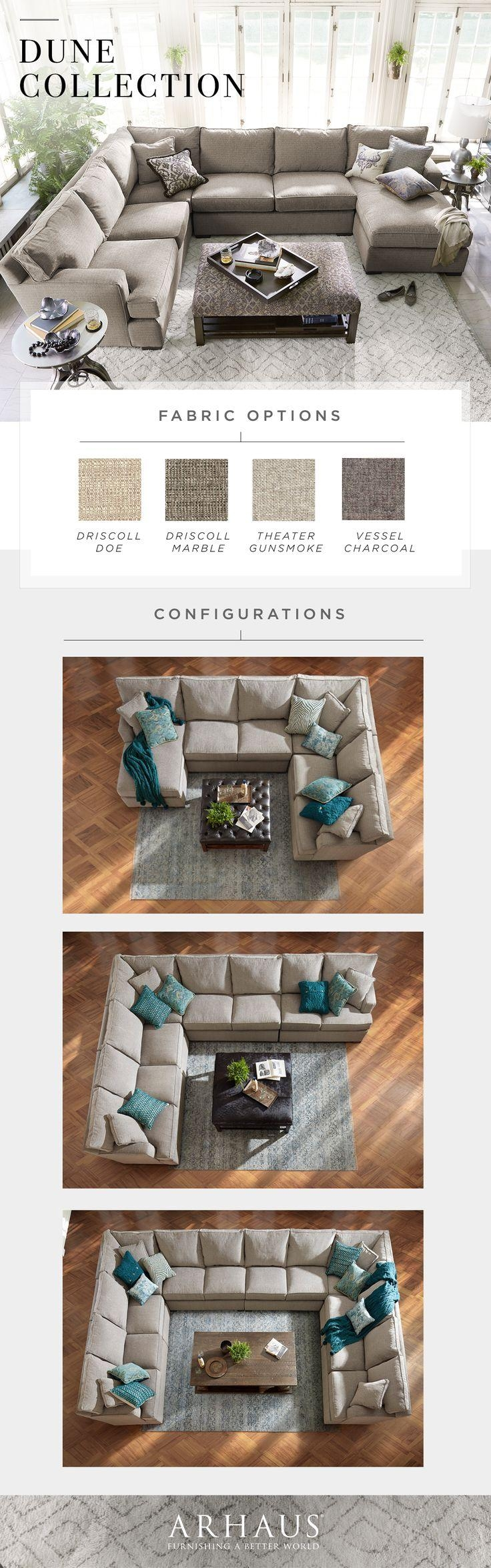 14 Best Sectional Sofas Images On Pinterest | Living Room For Arhaus Emory Sectional (Image 1 of 15)