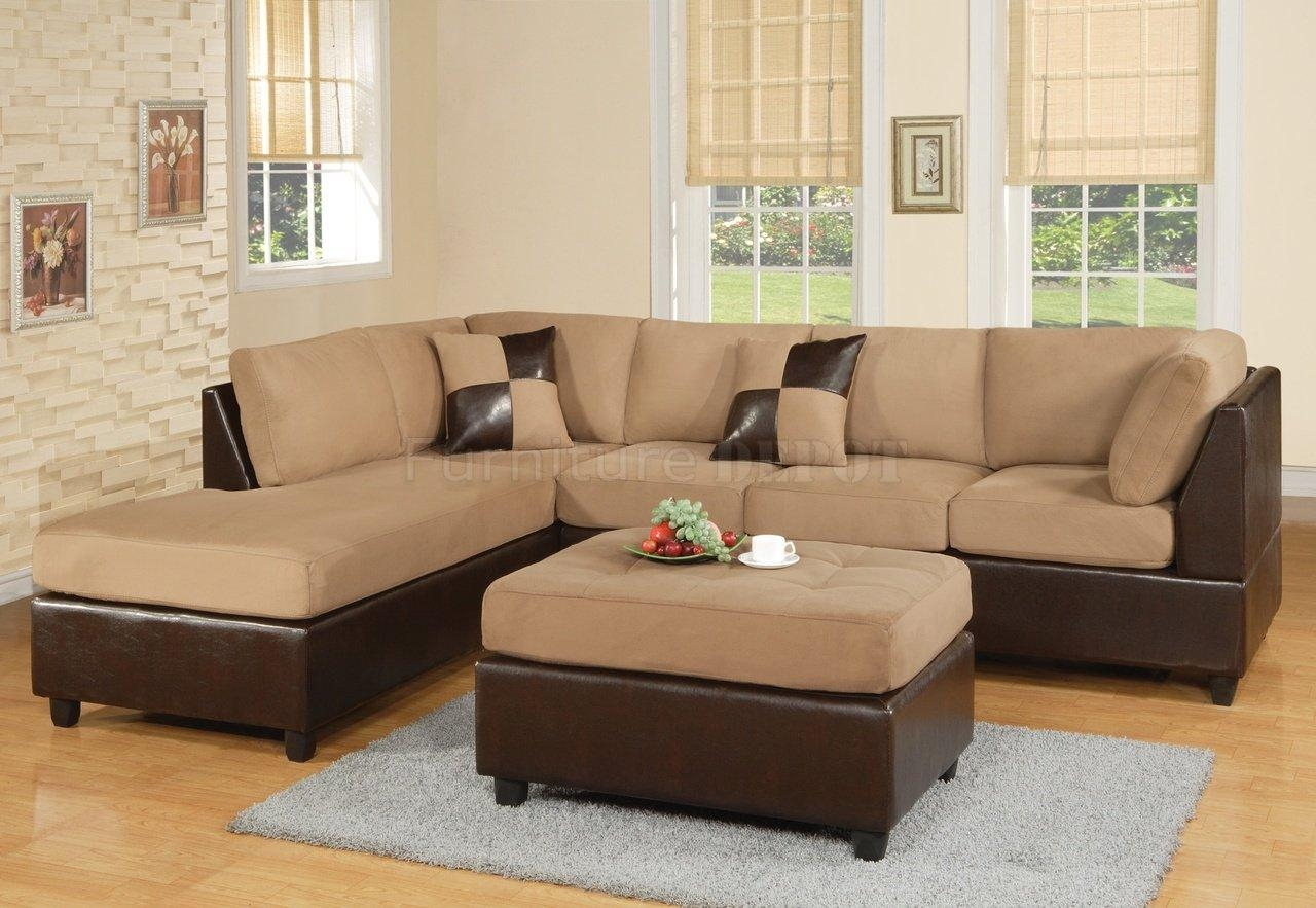 16 Interesting Two Tone Sectional Sofa Picture Ideas : Lawsh Pertaining To Two Tone Sofas (View 11 of 20)
