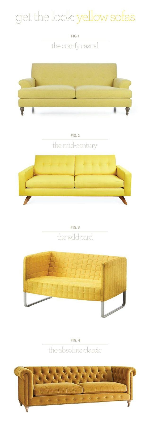 162 Best Colour: Yellow Rooms Images On Pinterest | Home With Yellow Chintz Sofas (View 6 of 20)